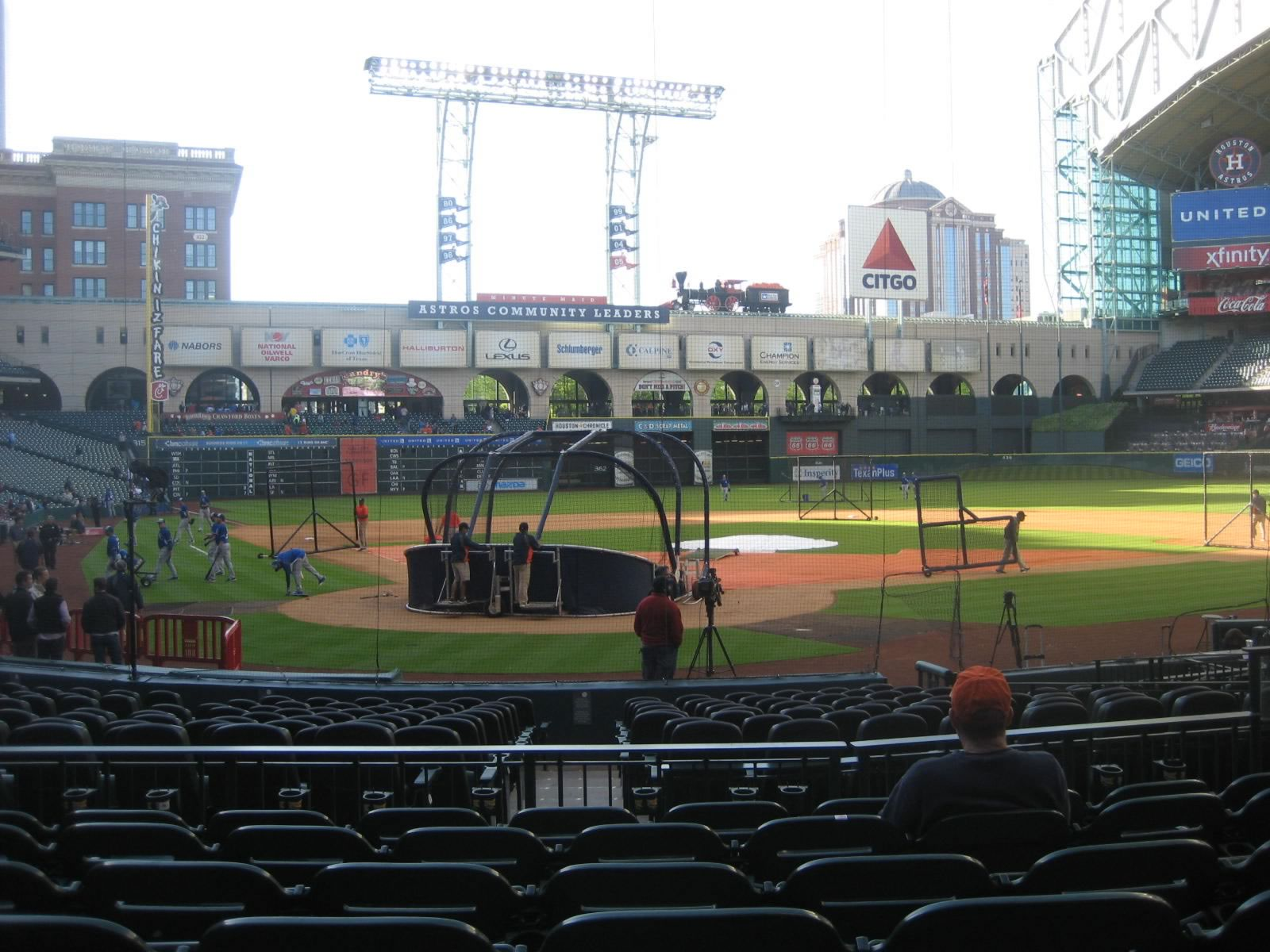 Seat View for Minute Maid Park Section 122, Row 12, Seat 5