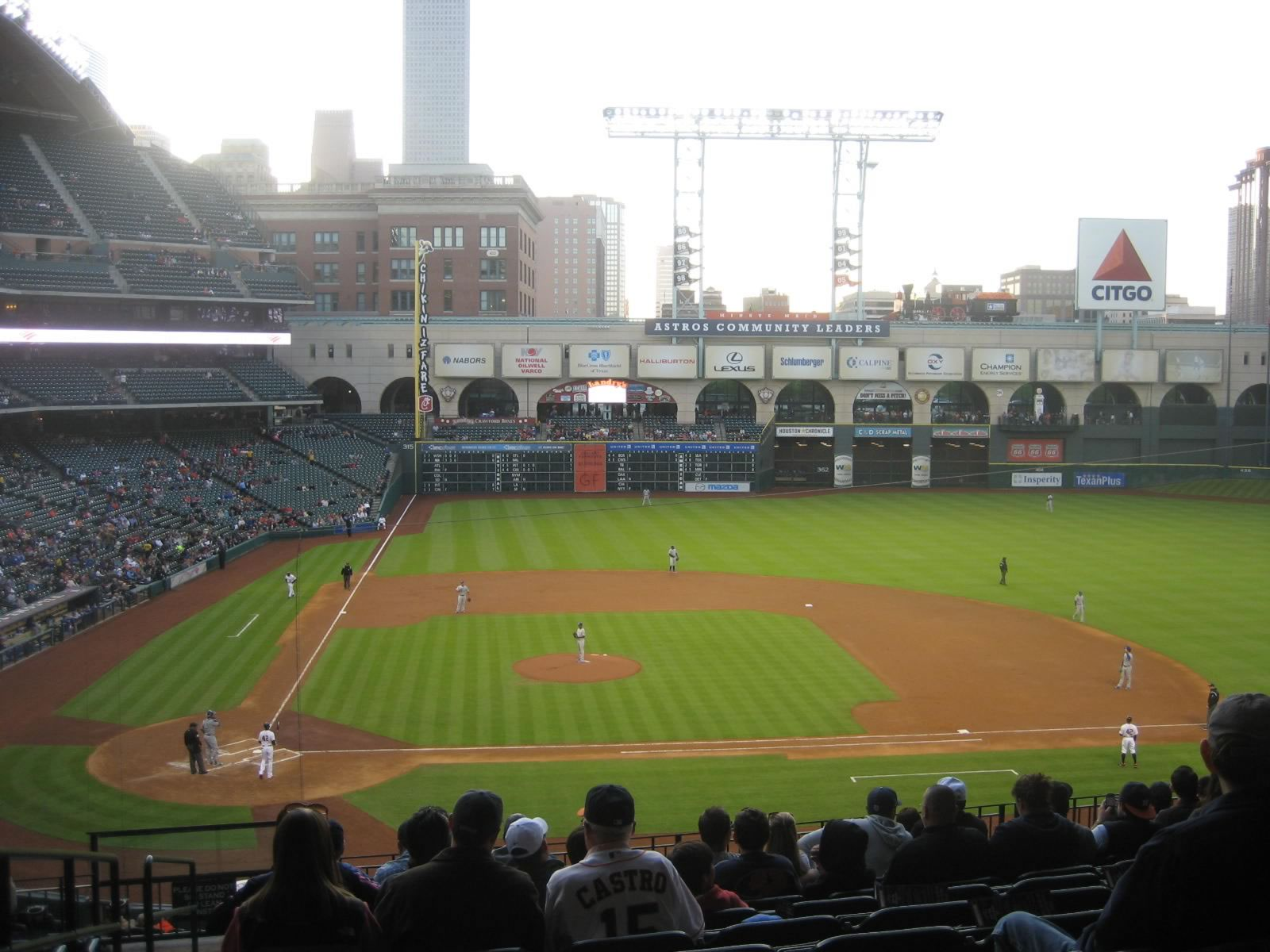 Seat View for Minute Maid Park Section 224, Row 11, Seat 1