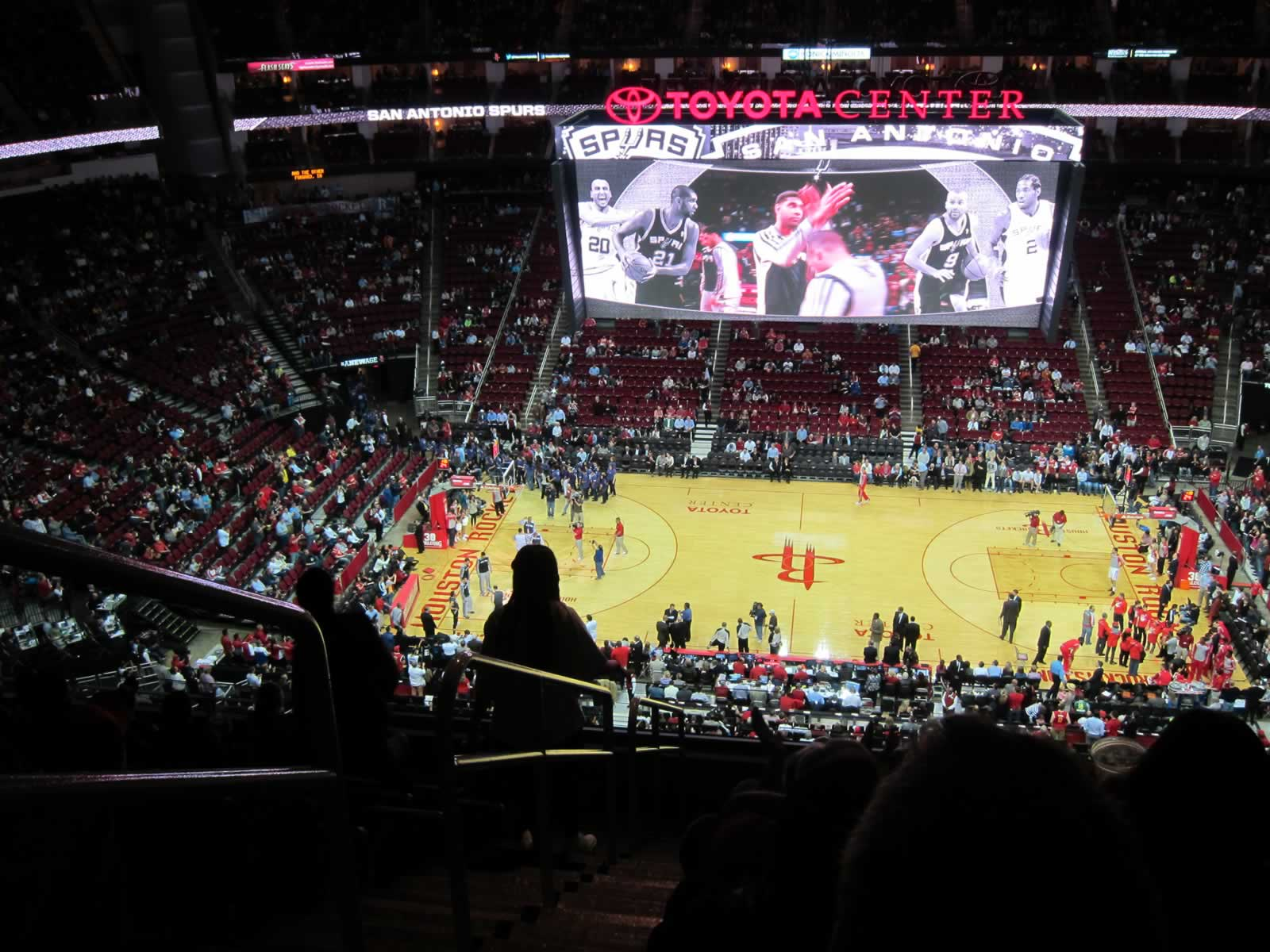 Seat View for Toyota Center Section 426, Row 9, Seat 16