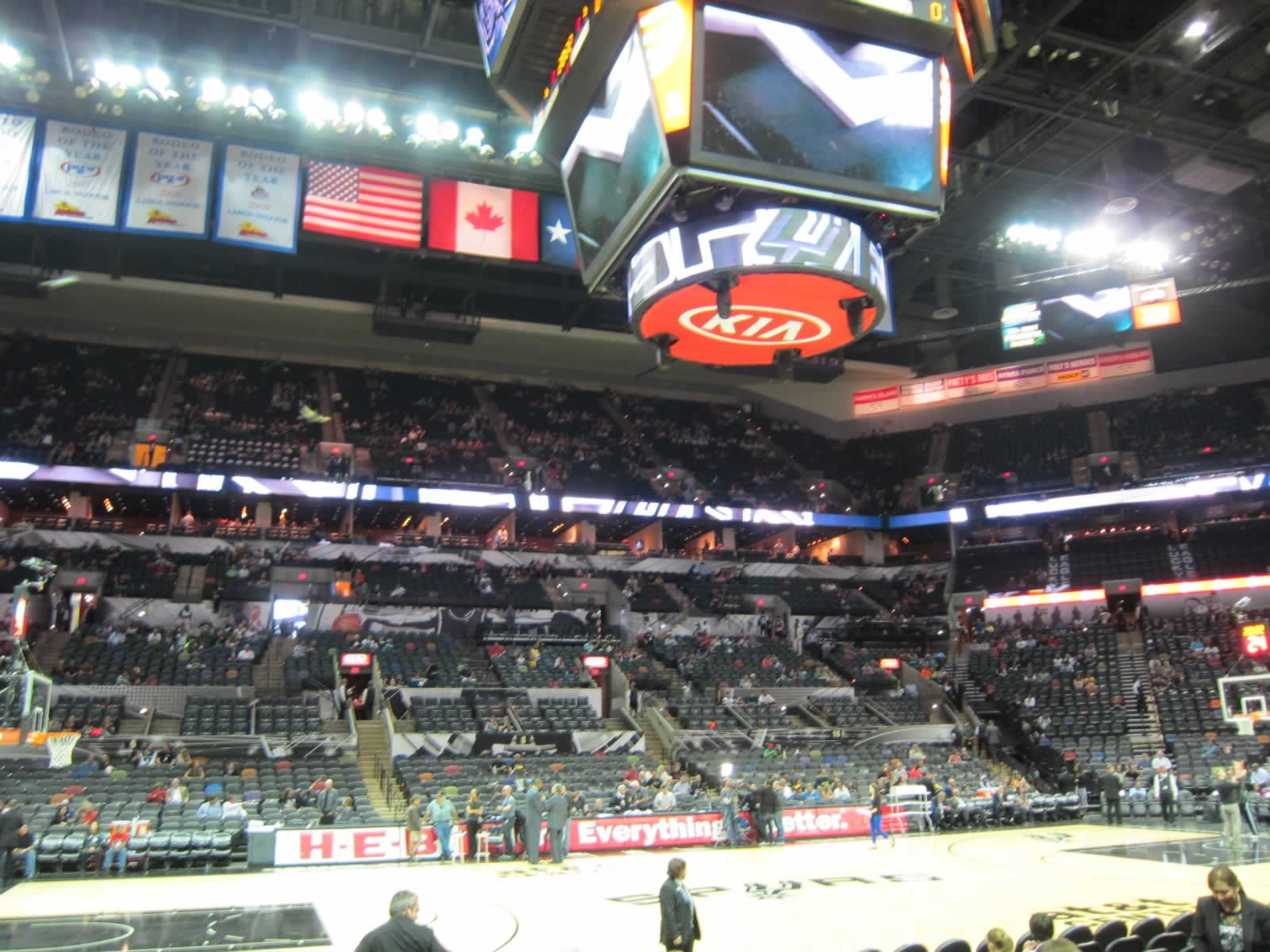 Seat View for AT&T Center Section 24, Row 11, Seat 10