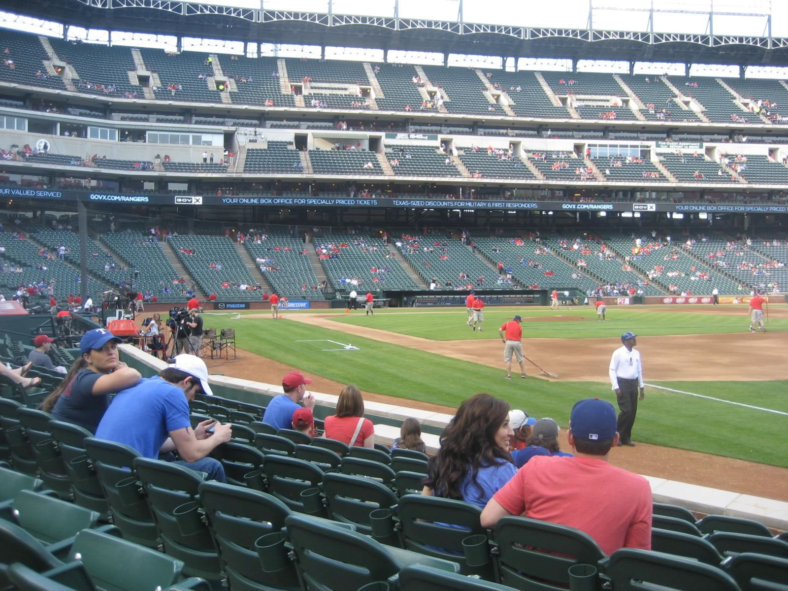 Seat View for Globe Life Park Section 37, Row 7, Seat 14