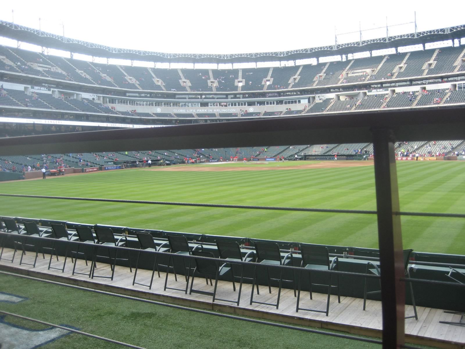 Seat View for Globe Life Park Section 49, Row 6, Seat 19