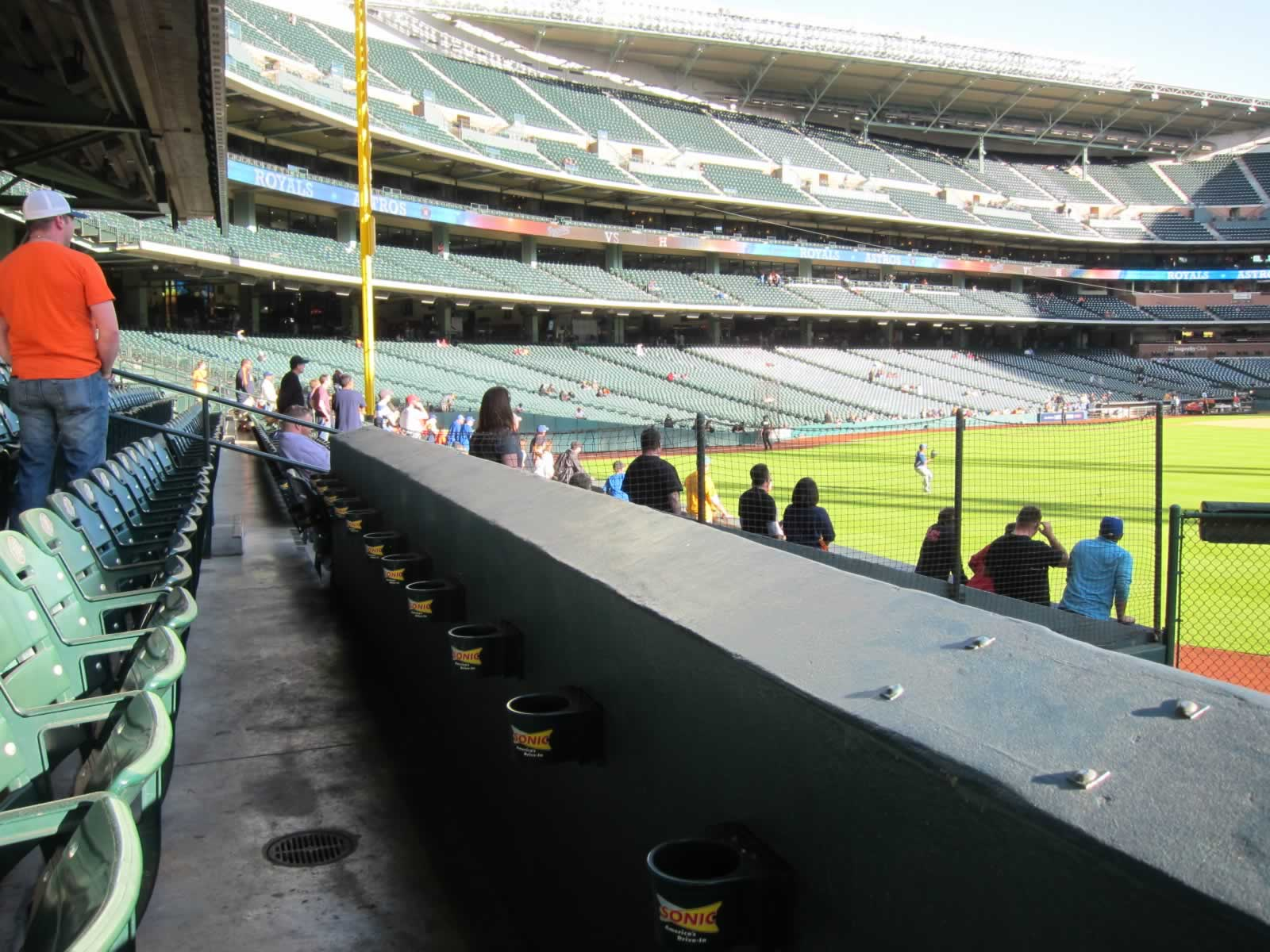 Seat View for Minute Maid Park Section 155, Row 8, Seat 16
