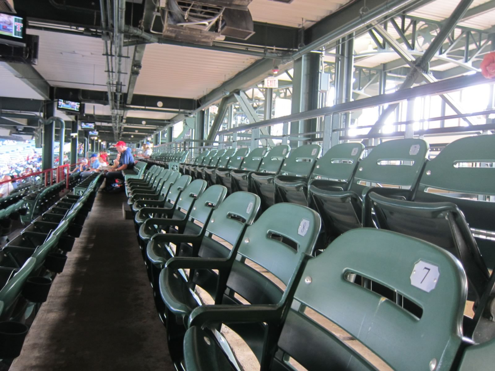 Fans Sitting Near Globe Life Park Section 133