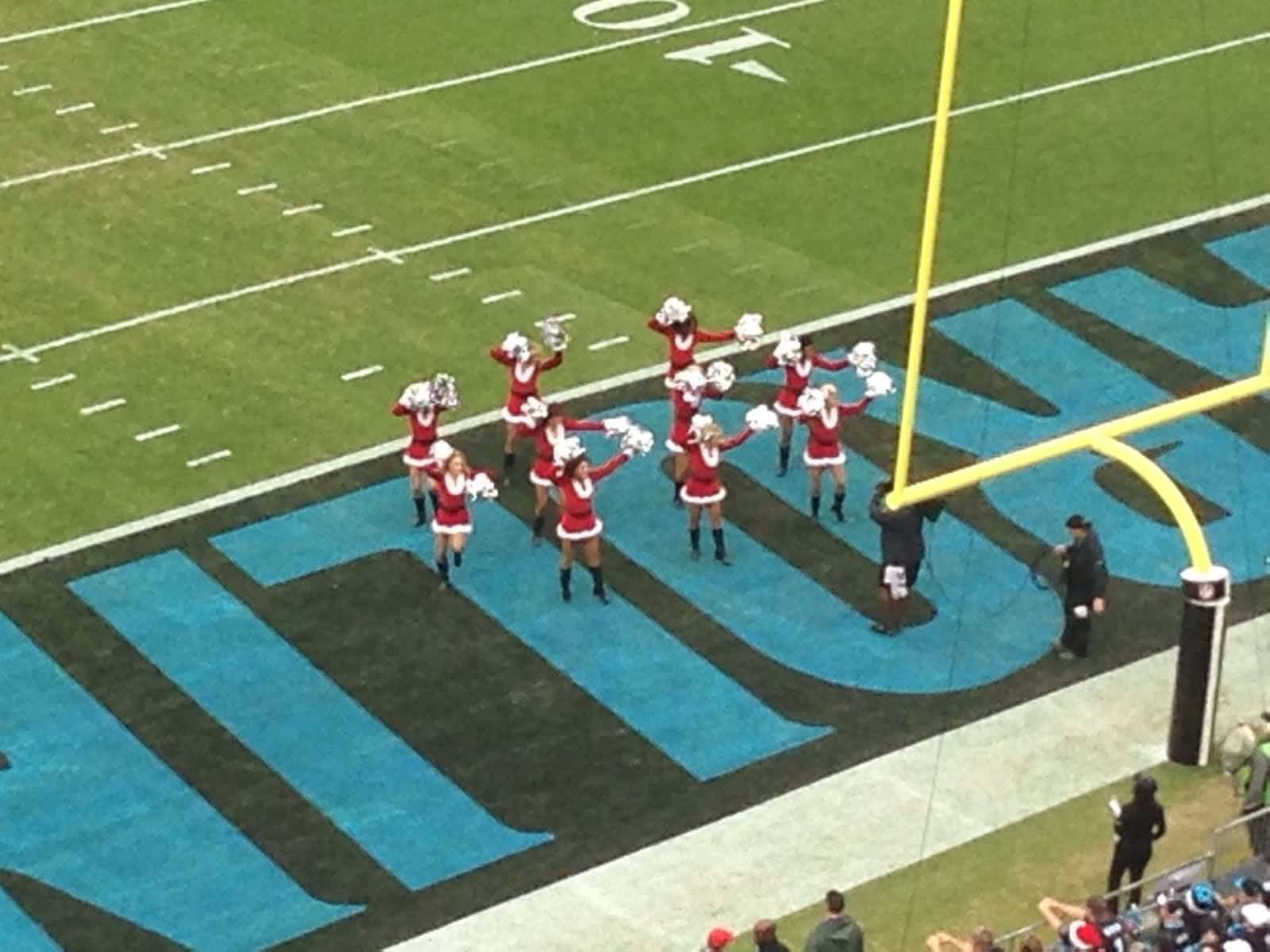 Seat View for Bank of America Stadium Section 505, Row 1A