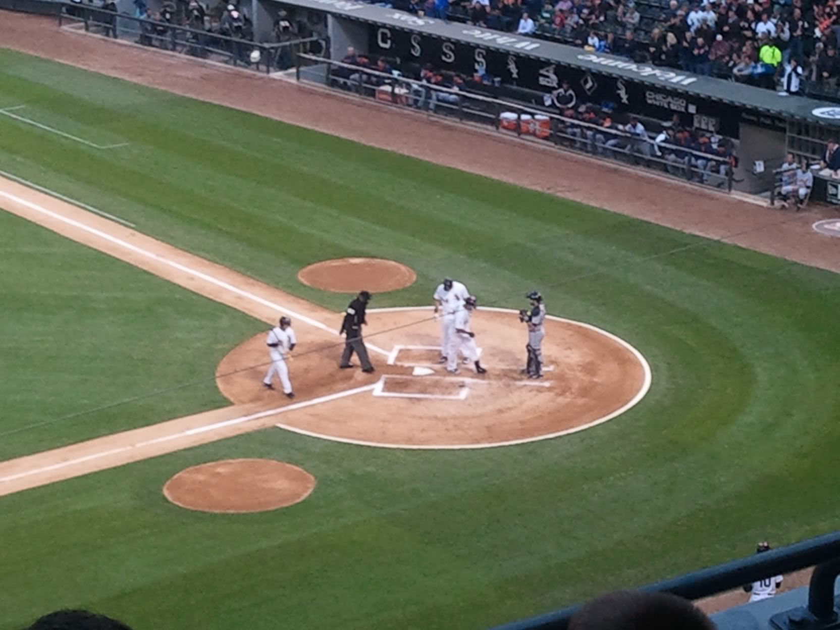 Seat View for Guaranteed Rate Field Section 340, Row 4, Seat 12