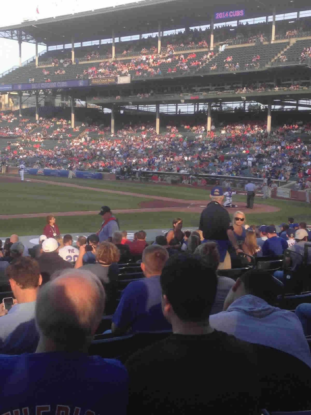 Seat View for Wrigley Field Section 111, Row 6, Seat 106
