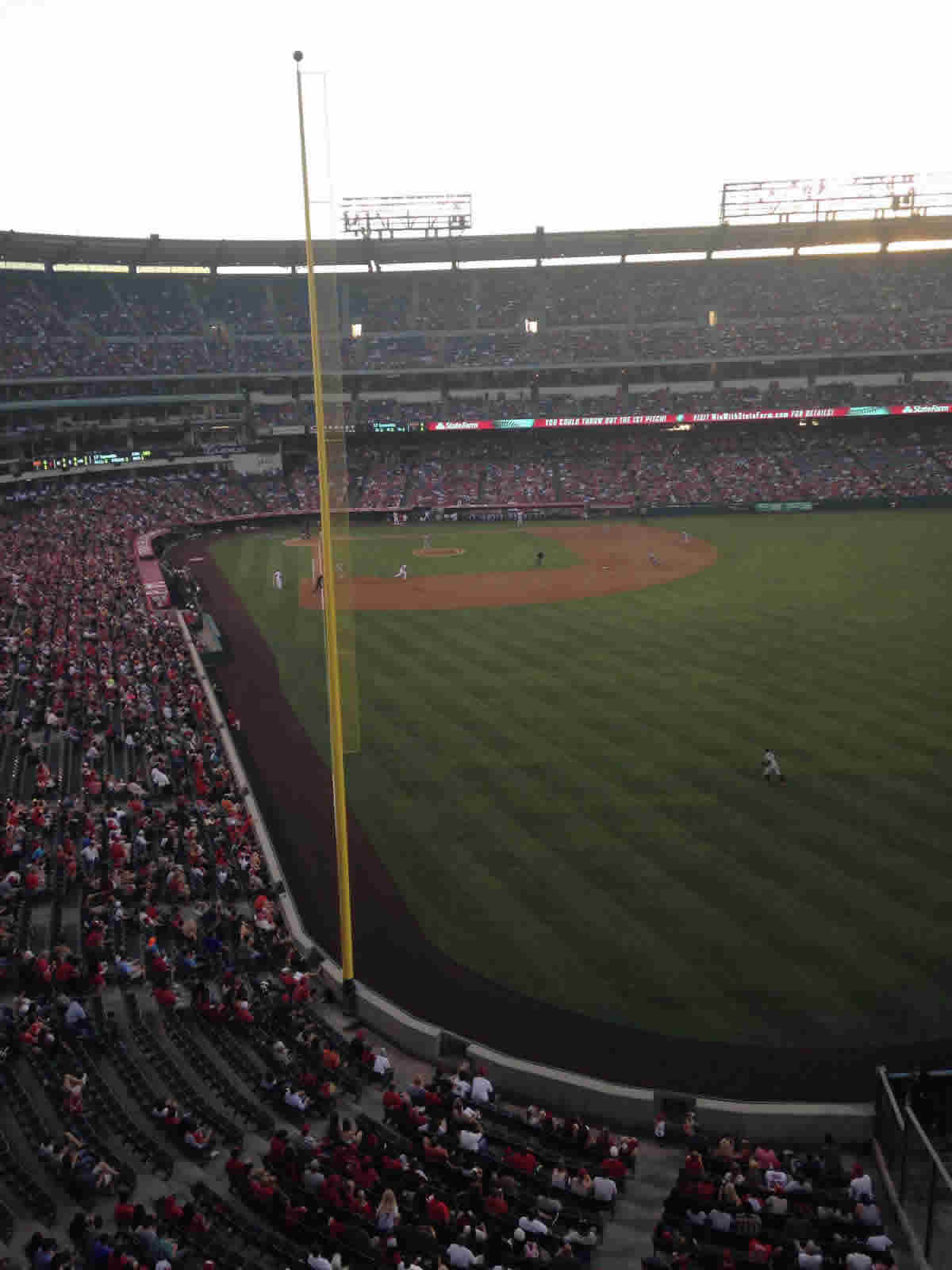 Seat View for Angel Stadium Section 436, Row A, Seat 4