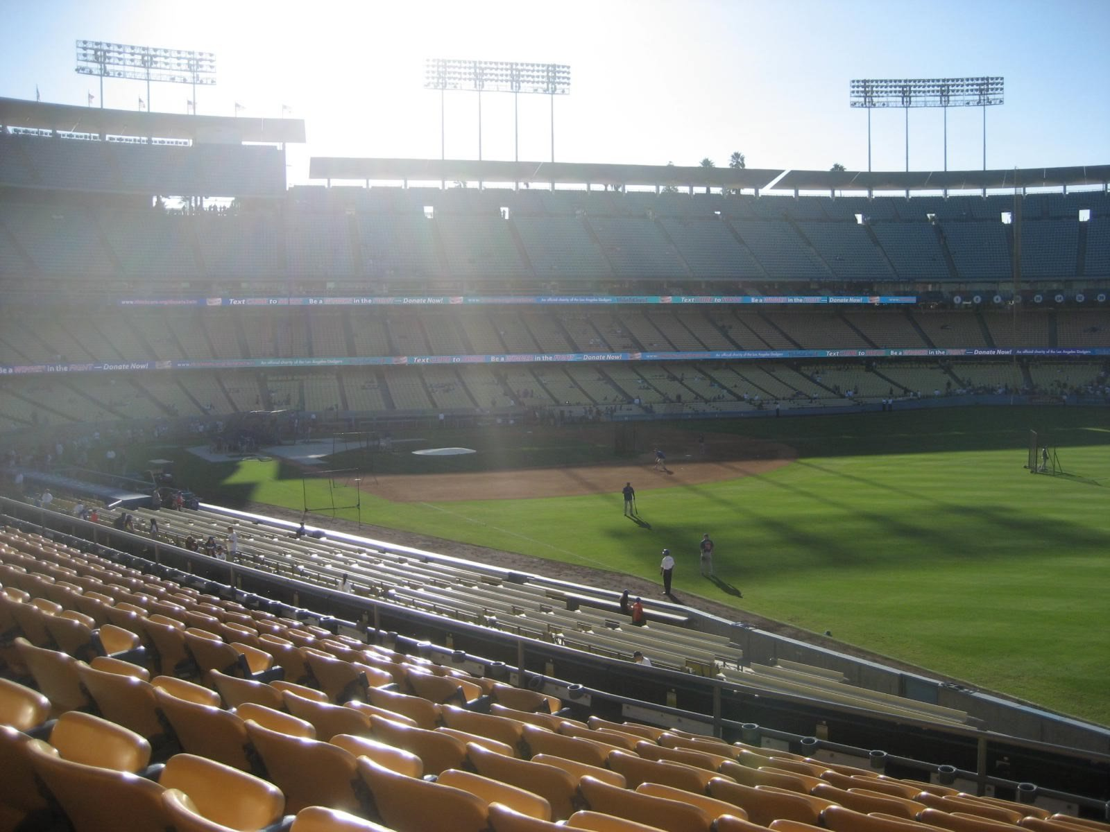 Seat View for Dodger Stadium Section 160, Row J, Seat 10