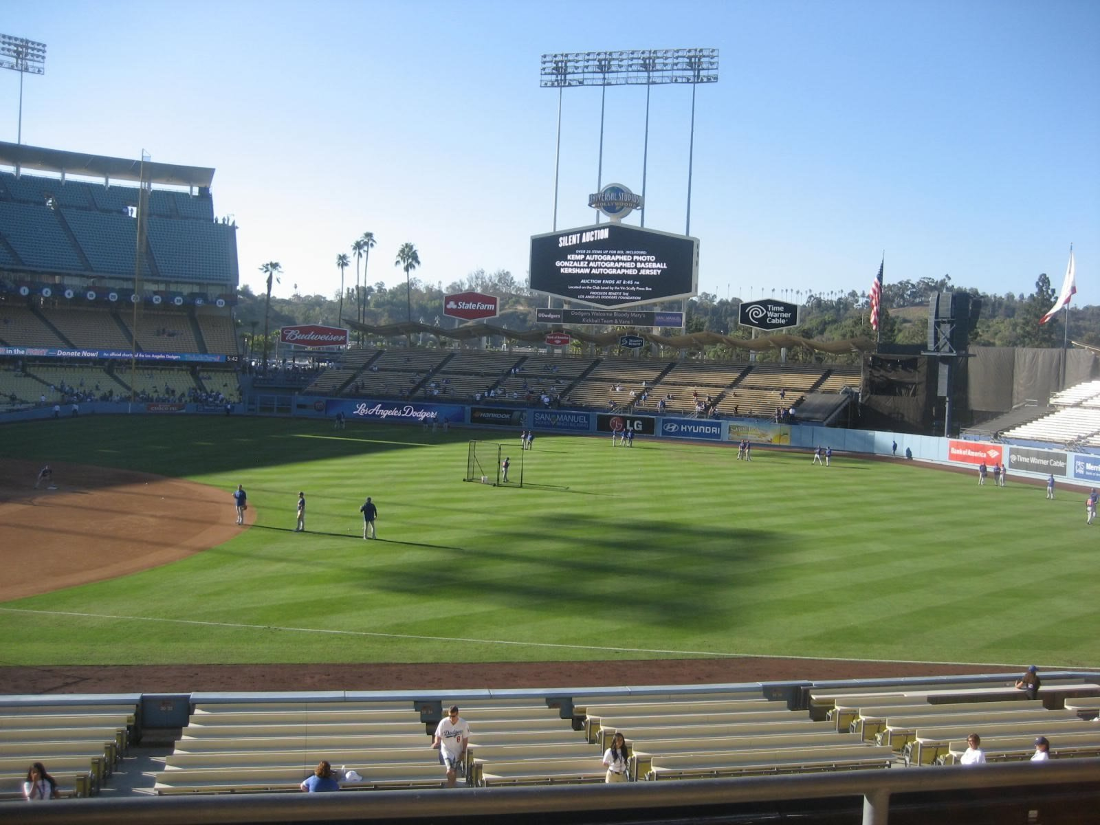 Seat View for Dodger Stadium Section 146, Row C, Seat 2