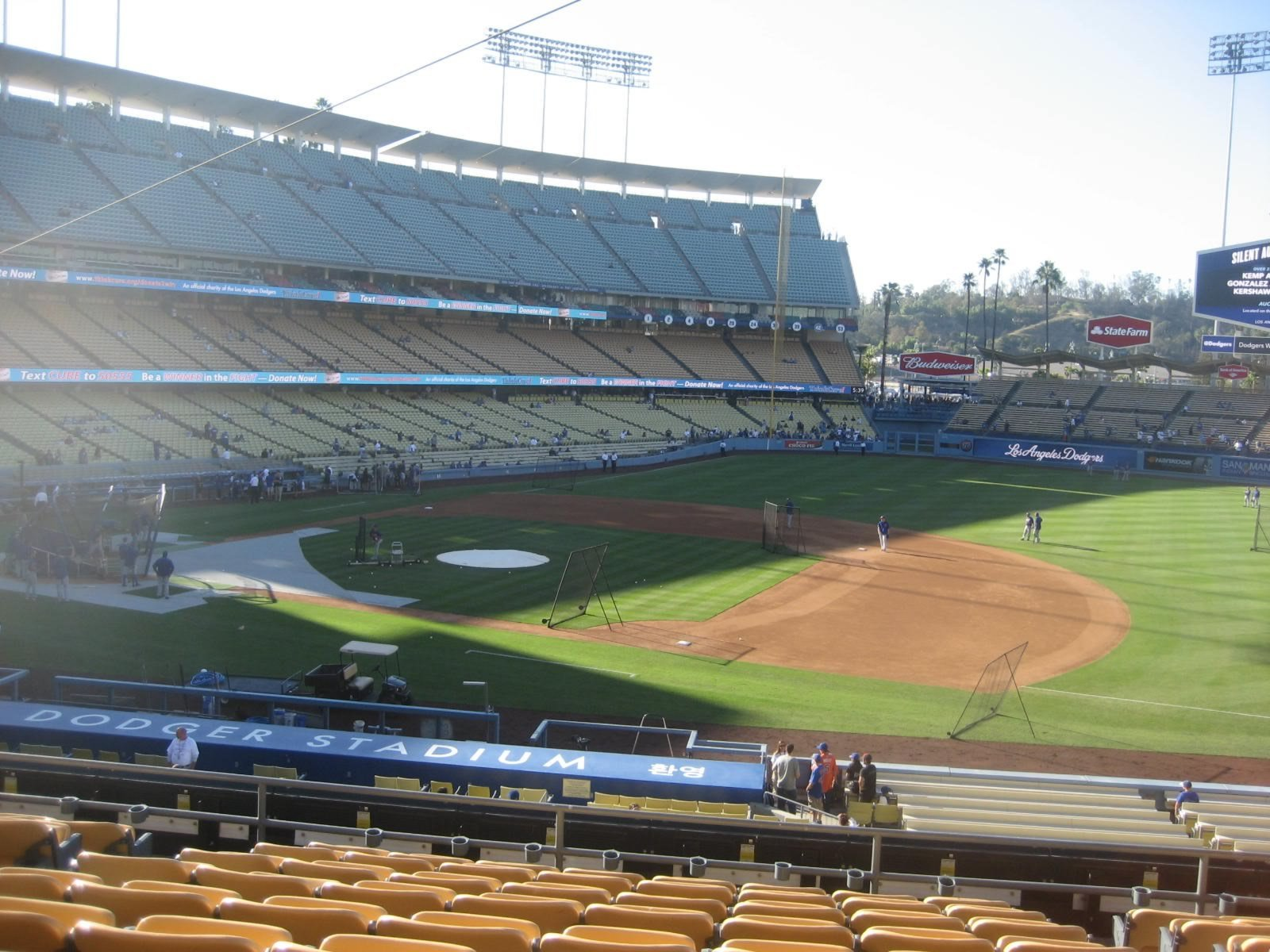 Seat View for Dodger Stadium Section 138, Row K, Seat 5