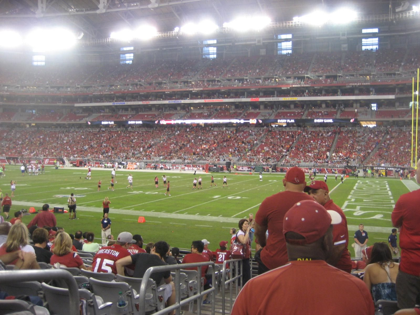 Section 103, Row 14