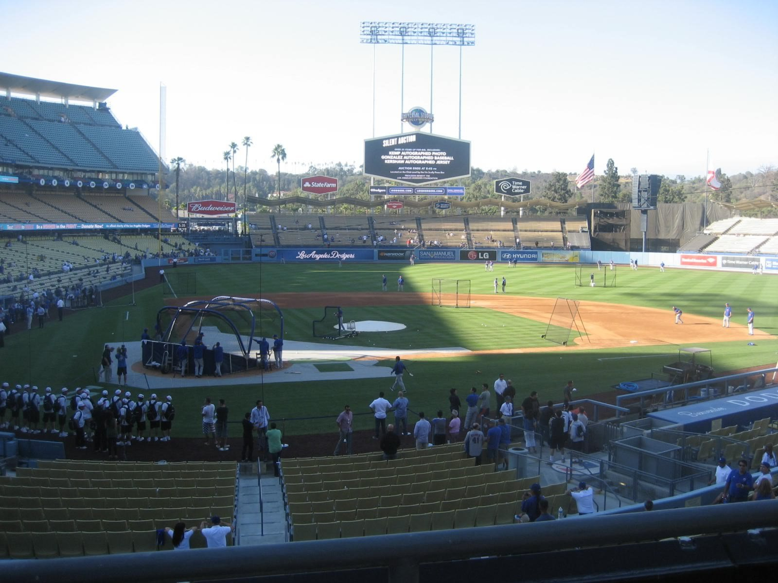 Seat View for Dodger Stadium Section 118, Row B, Seat 1