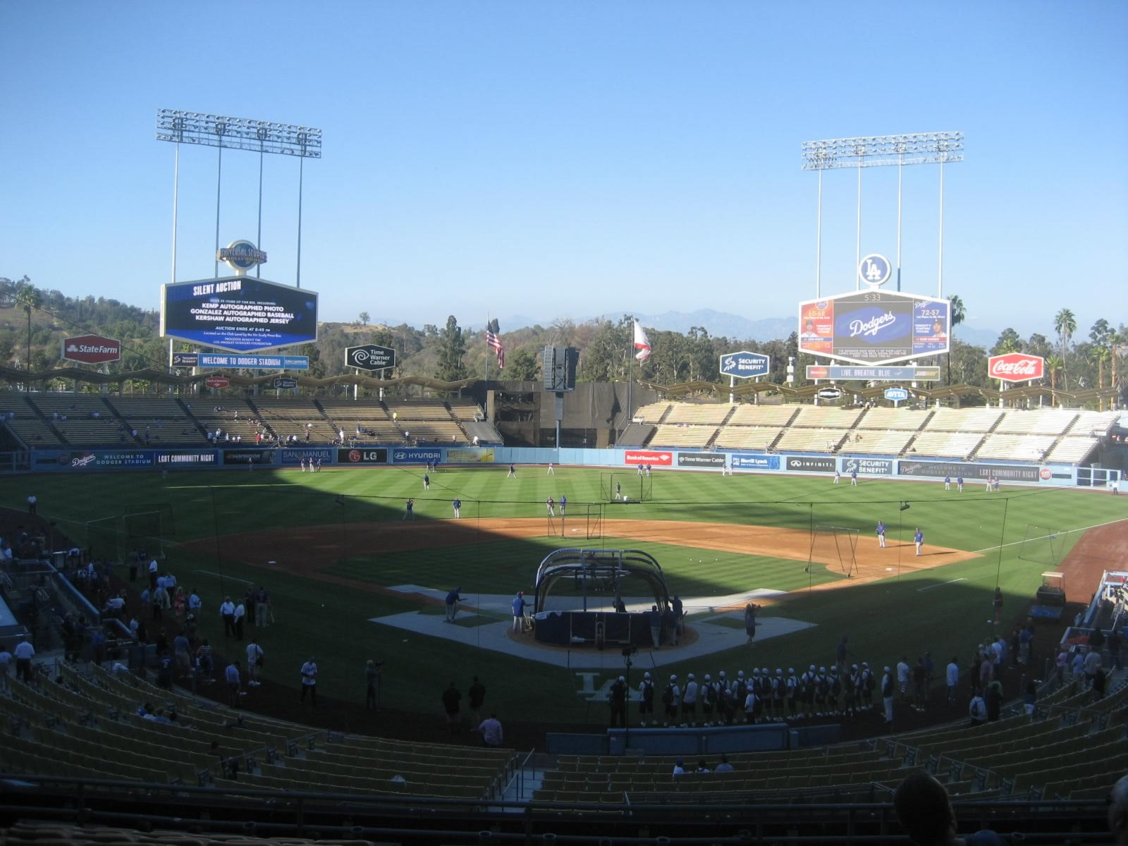 Seat View for Dodger Stadium Section 101, Row M