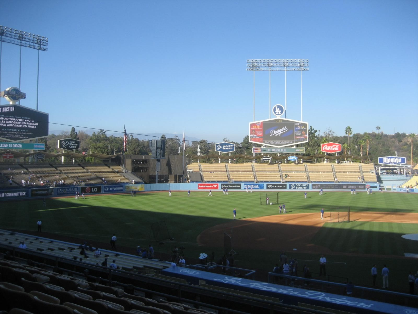 Seat View for Dodger Stadium Section 127, Row H