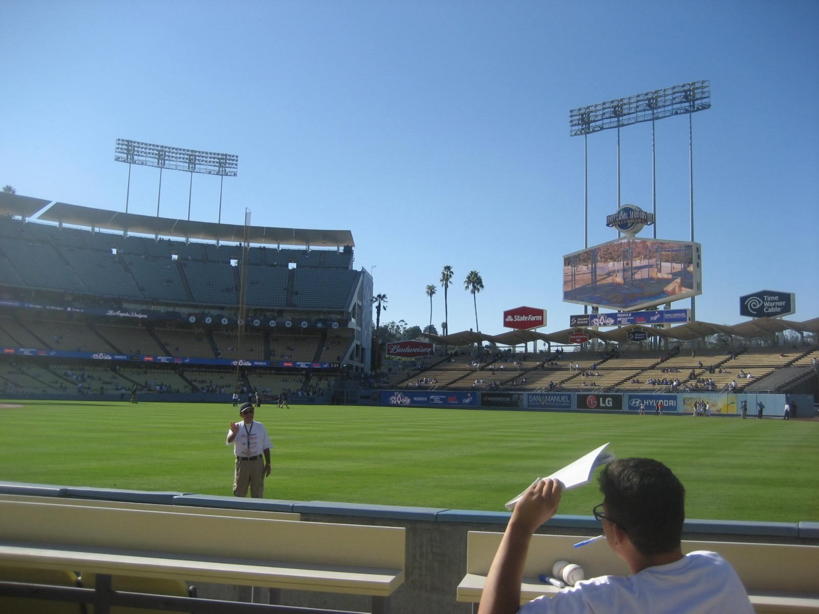 Seat View for Dodger Stadium Section 44, Row A