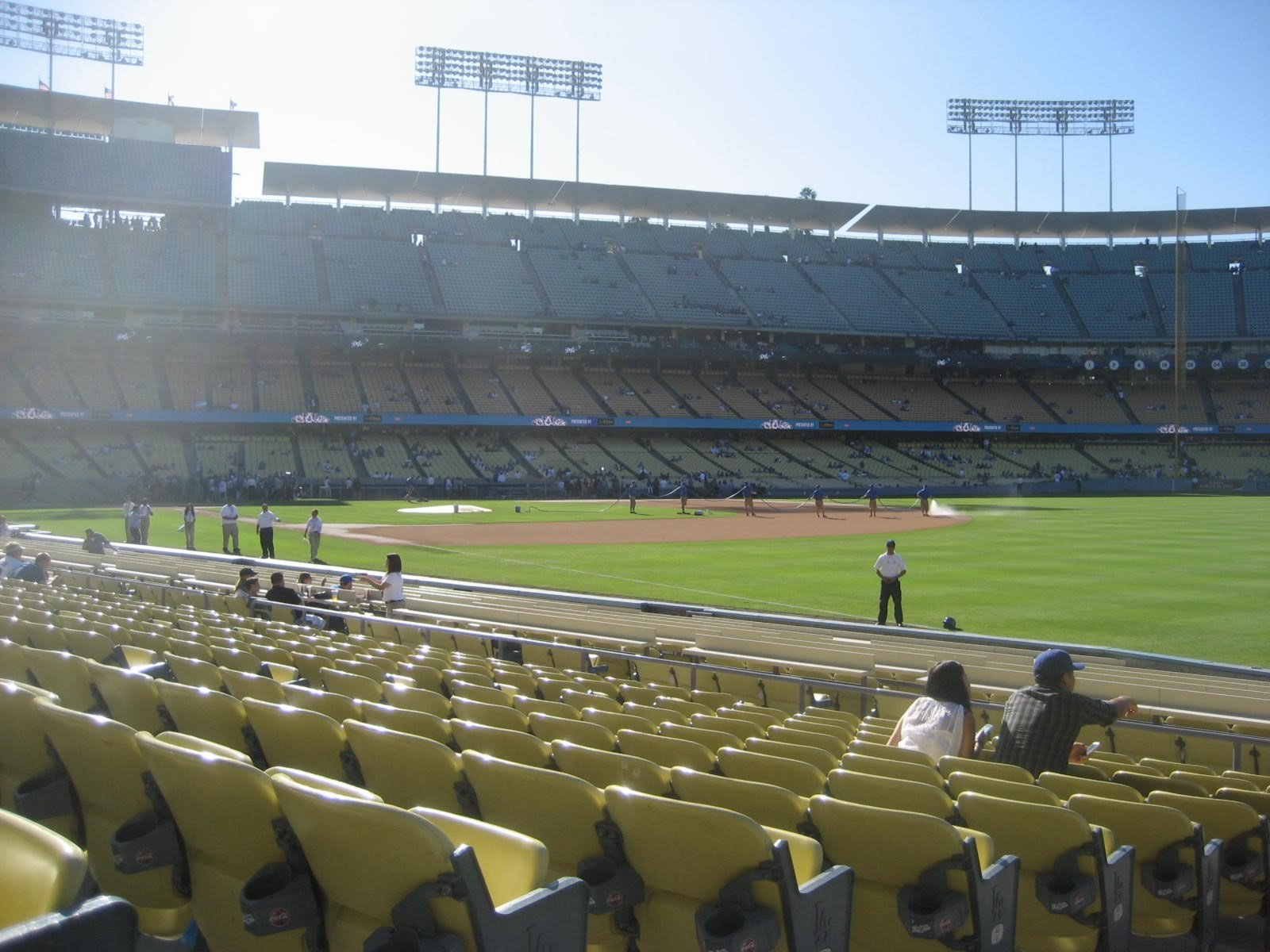 Seat View for Dodger Stadium Section 44, Row L, Seat 2