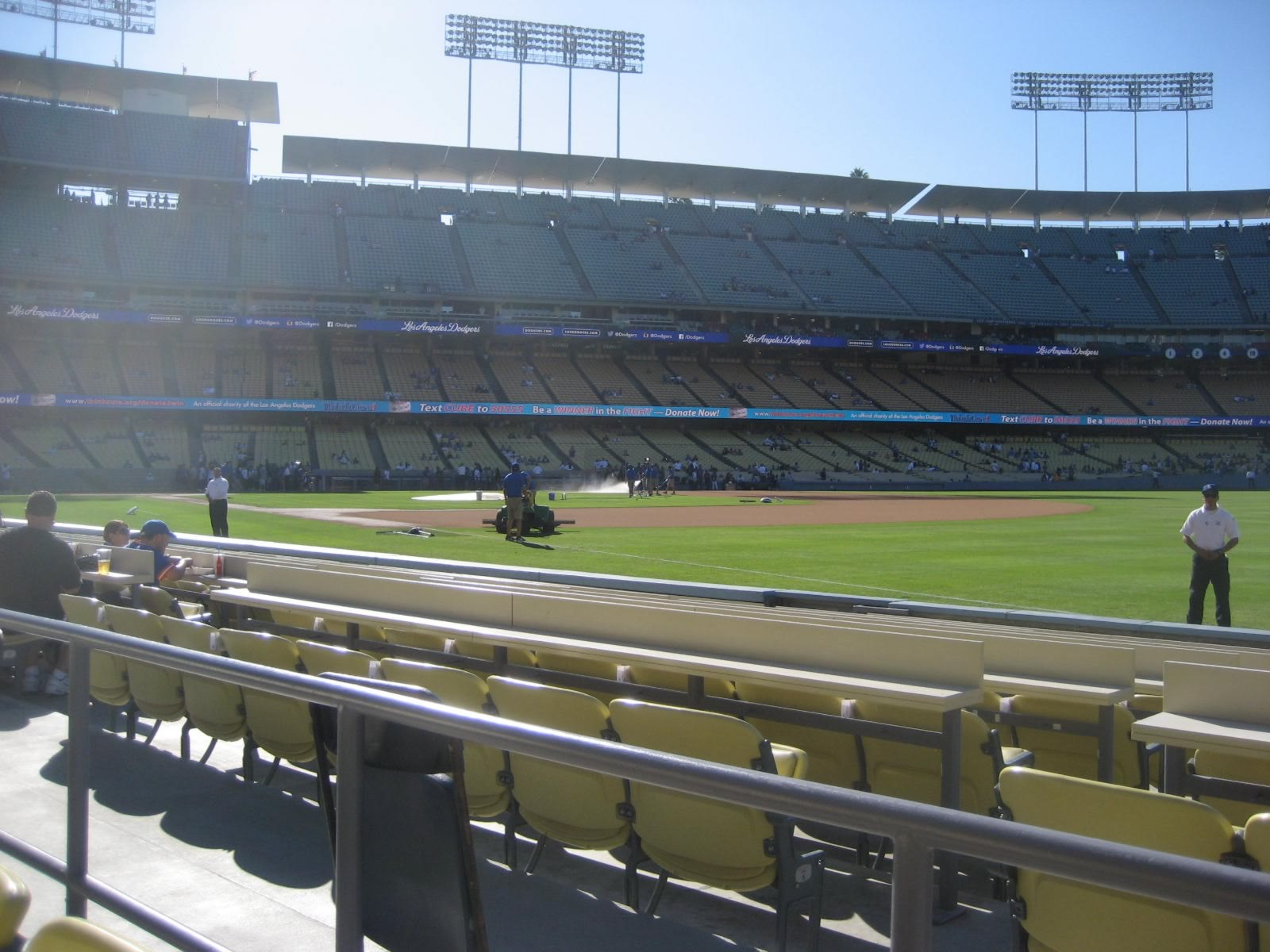 Seat View for Dodger Stadium Section 40, Row B