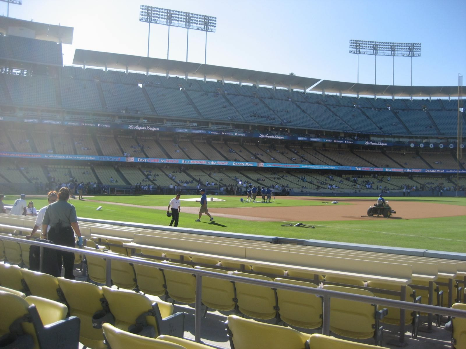 Seat View for Dodger Stadium Section 34, Row D, Seat 4