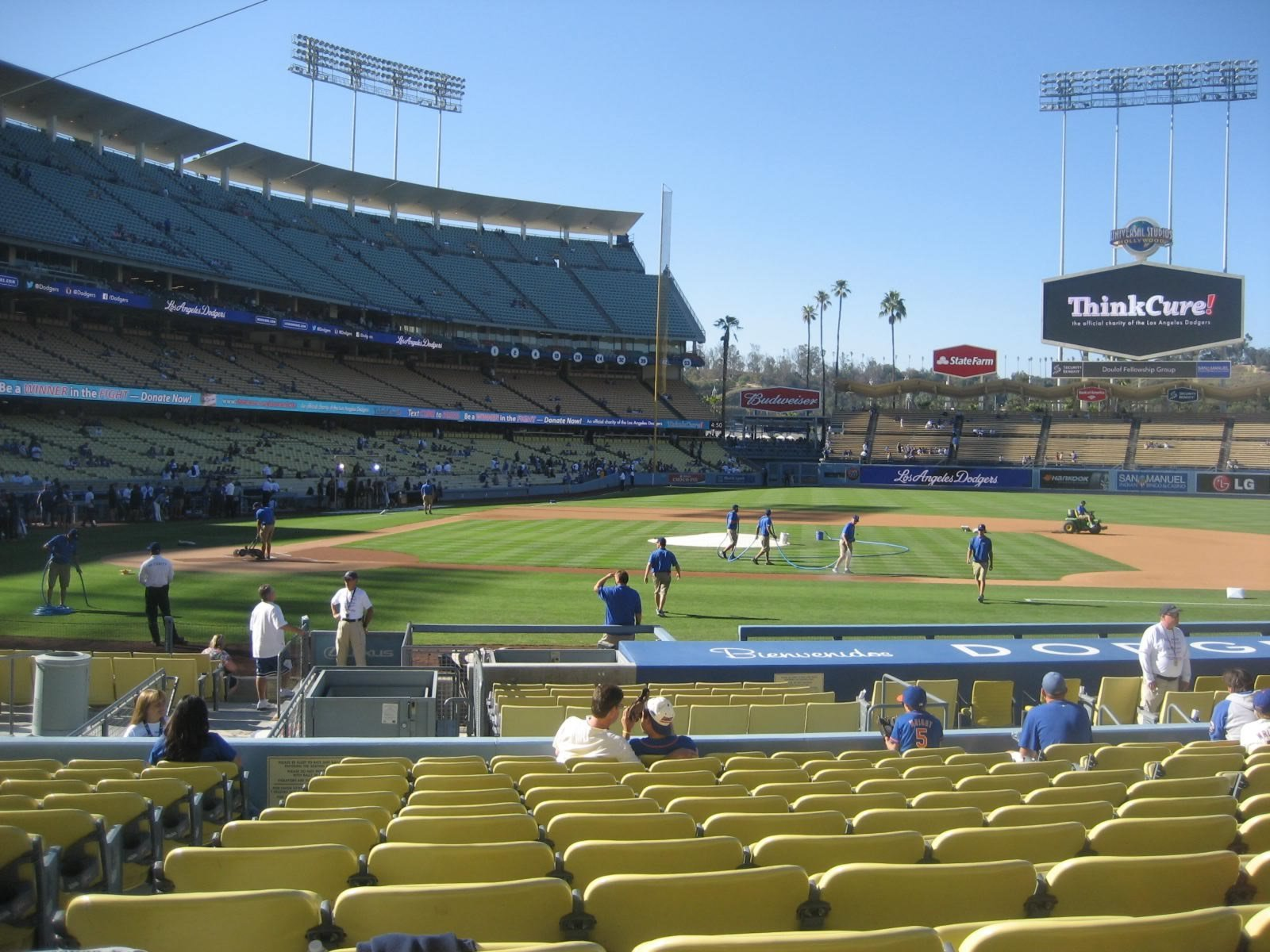 Seat View for Dodger Stadium Section 16, Row M, Seat 2