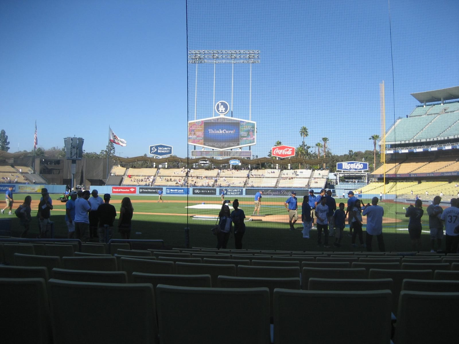 Seat View for Dodger Stadium Section 7, Row a, Seat 4