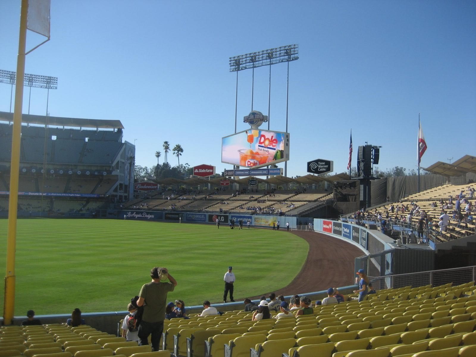 Seat View for Dodger Stadium Section 48, Row T, Seat 15
