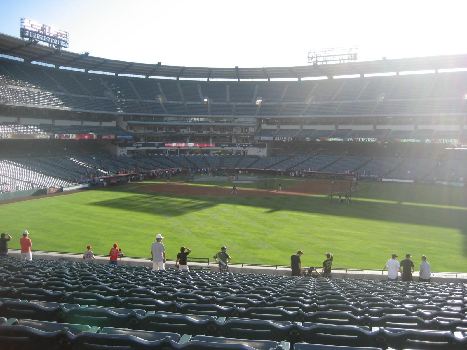 Seat View for Angel Stadium Section 239, Row WW