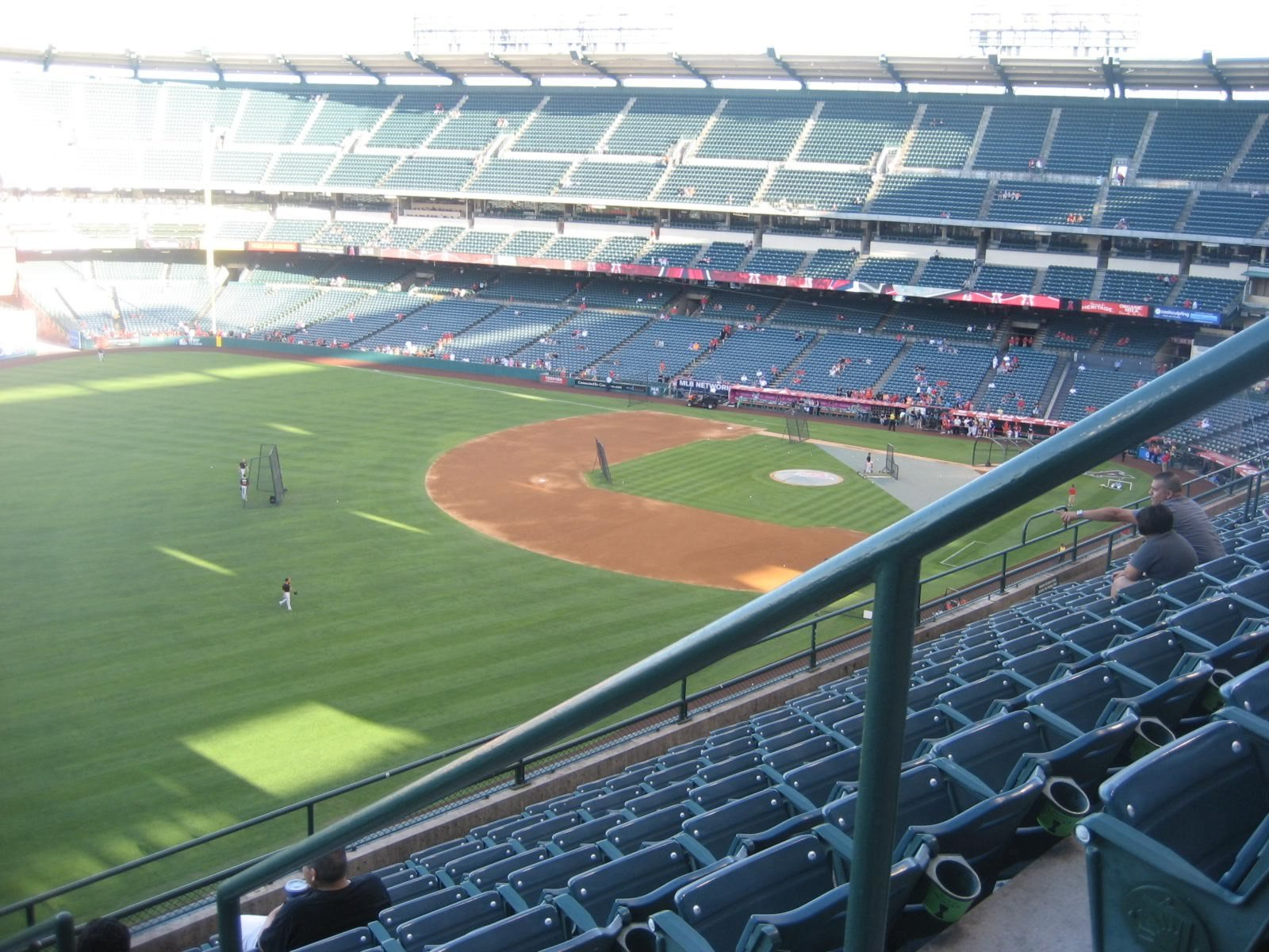 Seat View for Angel Stadium Section 406, Row J, Seat 18