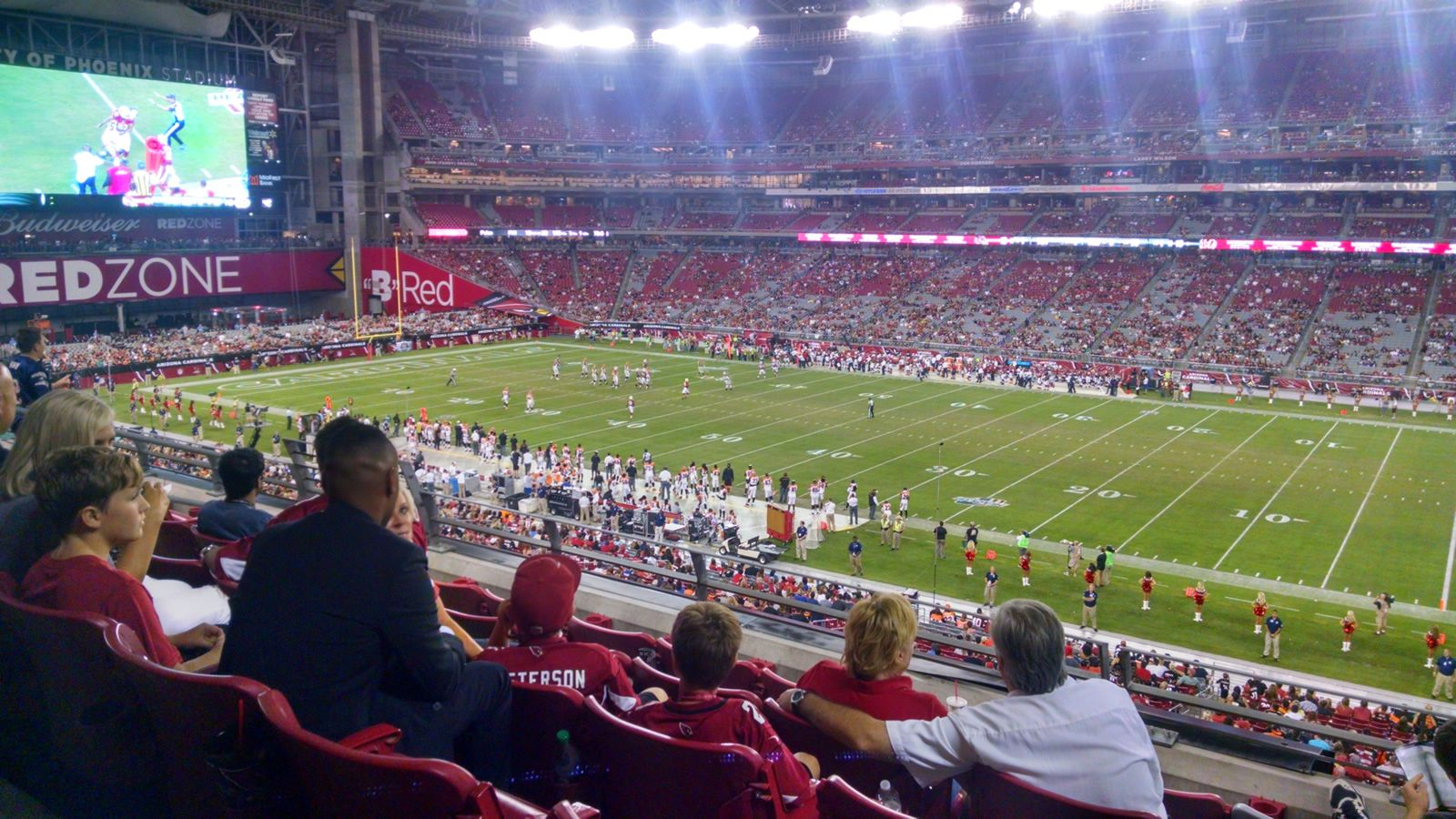Arizona Cardinals Seat View for State Farm Stadium Section 233, Row 5, Seat 6