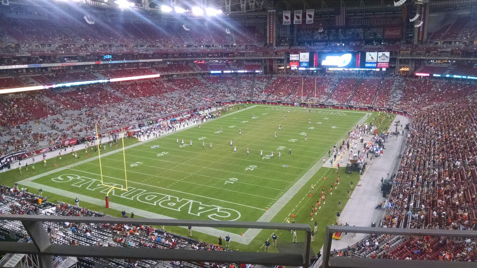 Section 455 seat view