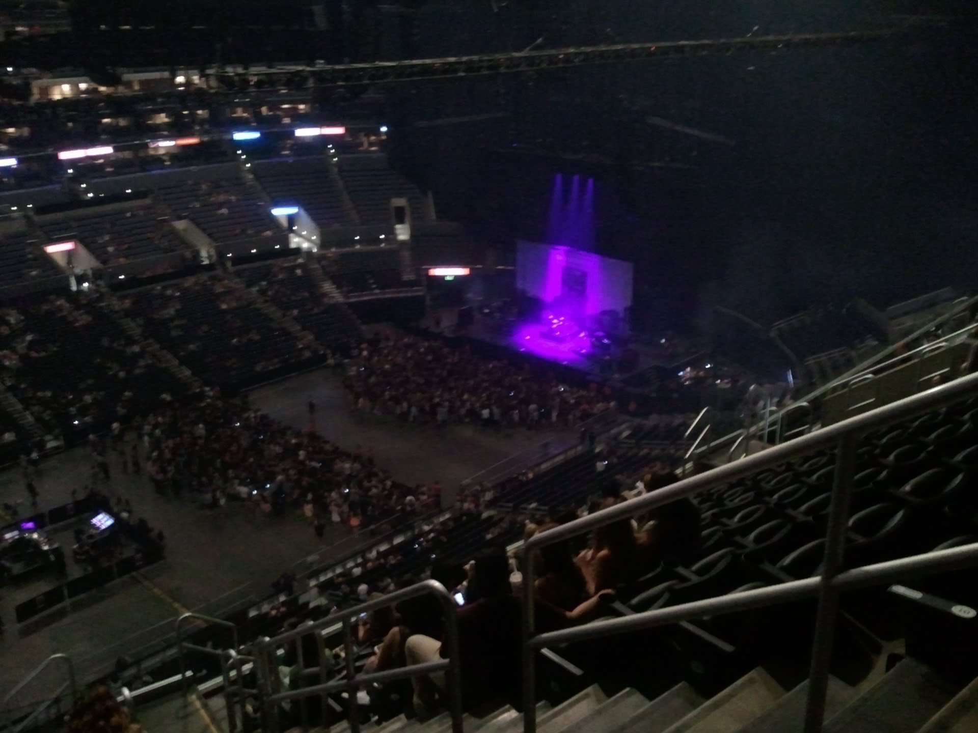 Concert Seat View for Staples Center Section 304, Row 12, Seat 3