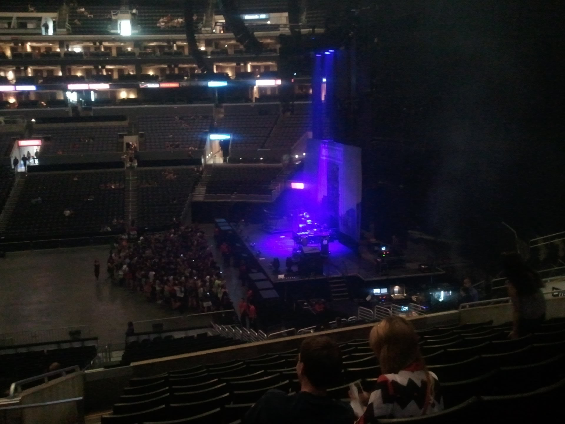 Concert Seat View for Staples Center Section 3, Row 12, Seat 16