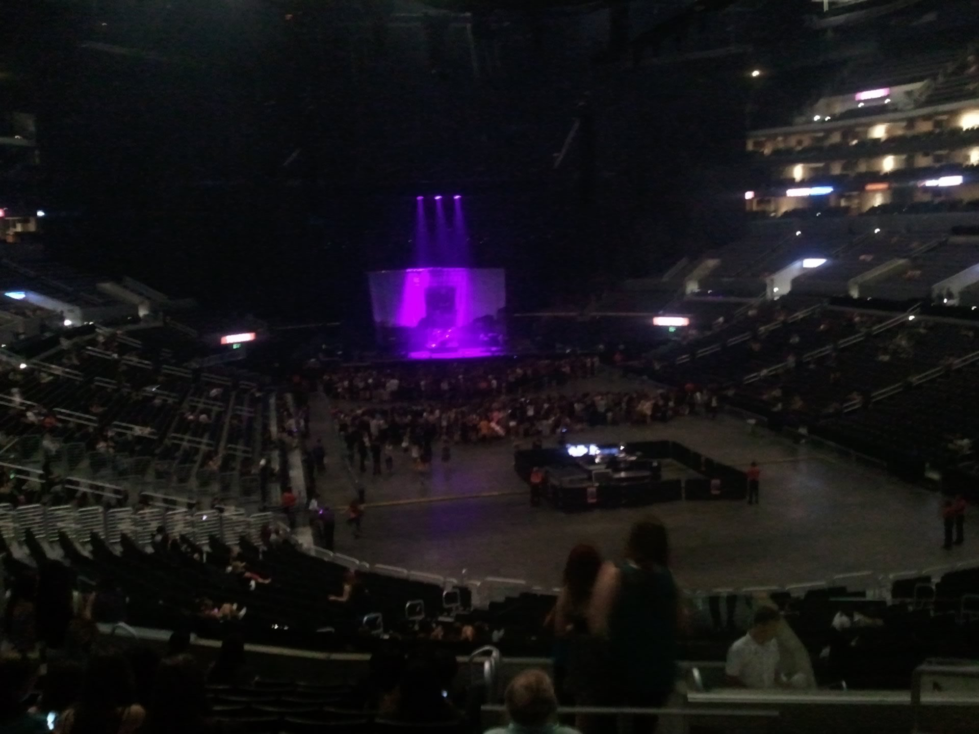 Concert Seat View for Staples Center Section 209, Row 12, Seat 4