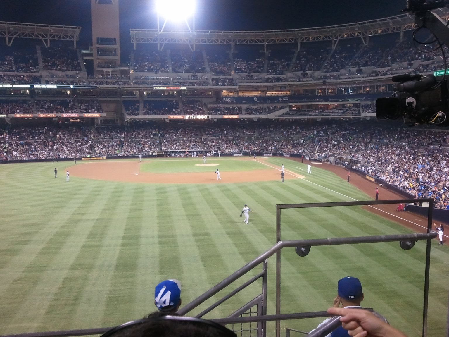 Seat View for PETCO Park Section 226, Row 6, Seat 2