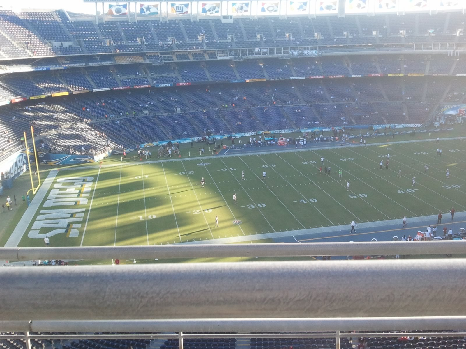 Seat View for SDCCU Stadium View Level 3V, Row 5, Seat 3