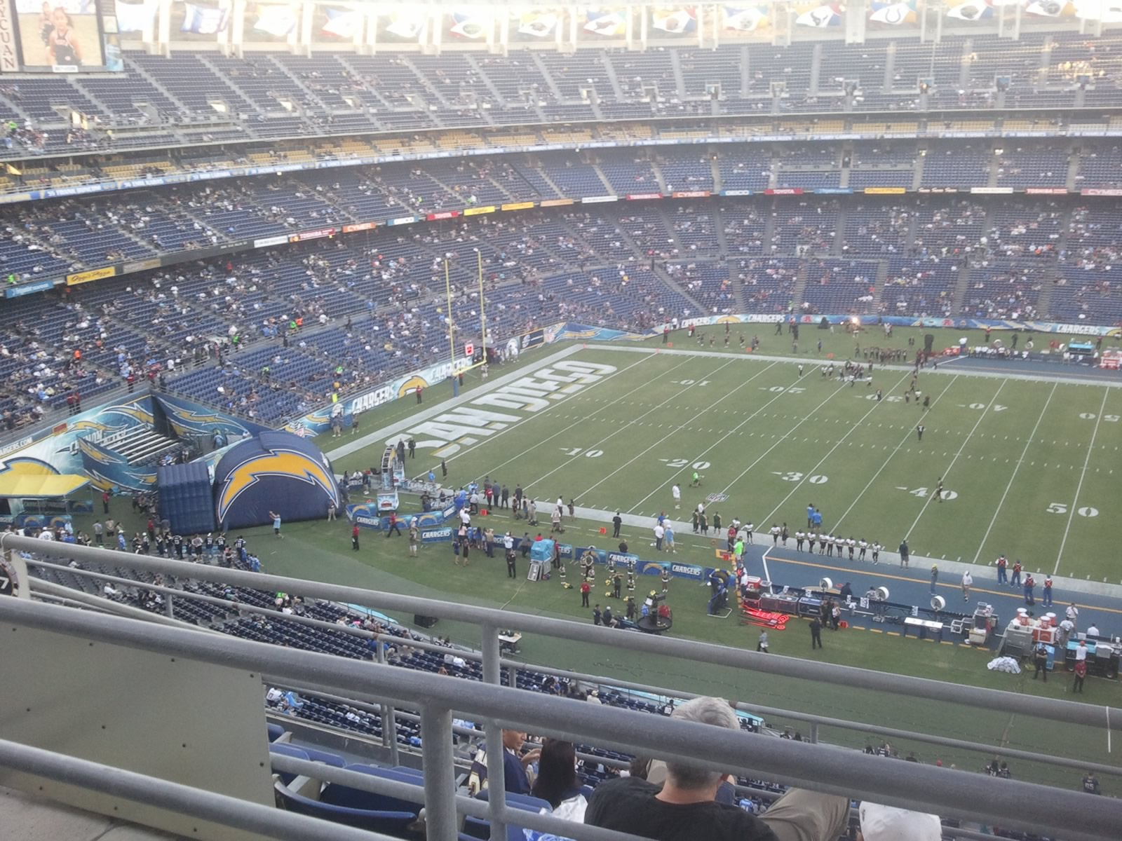 Seat View for SDCCU Stadium View Level 37V, Row 6, Seat 19
