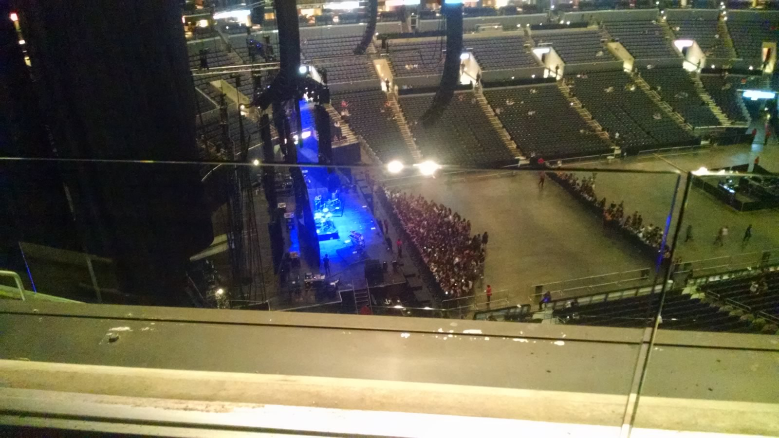 Concert Seat View for Staples Center Section 321, Row 6, Seat 13