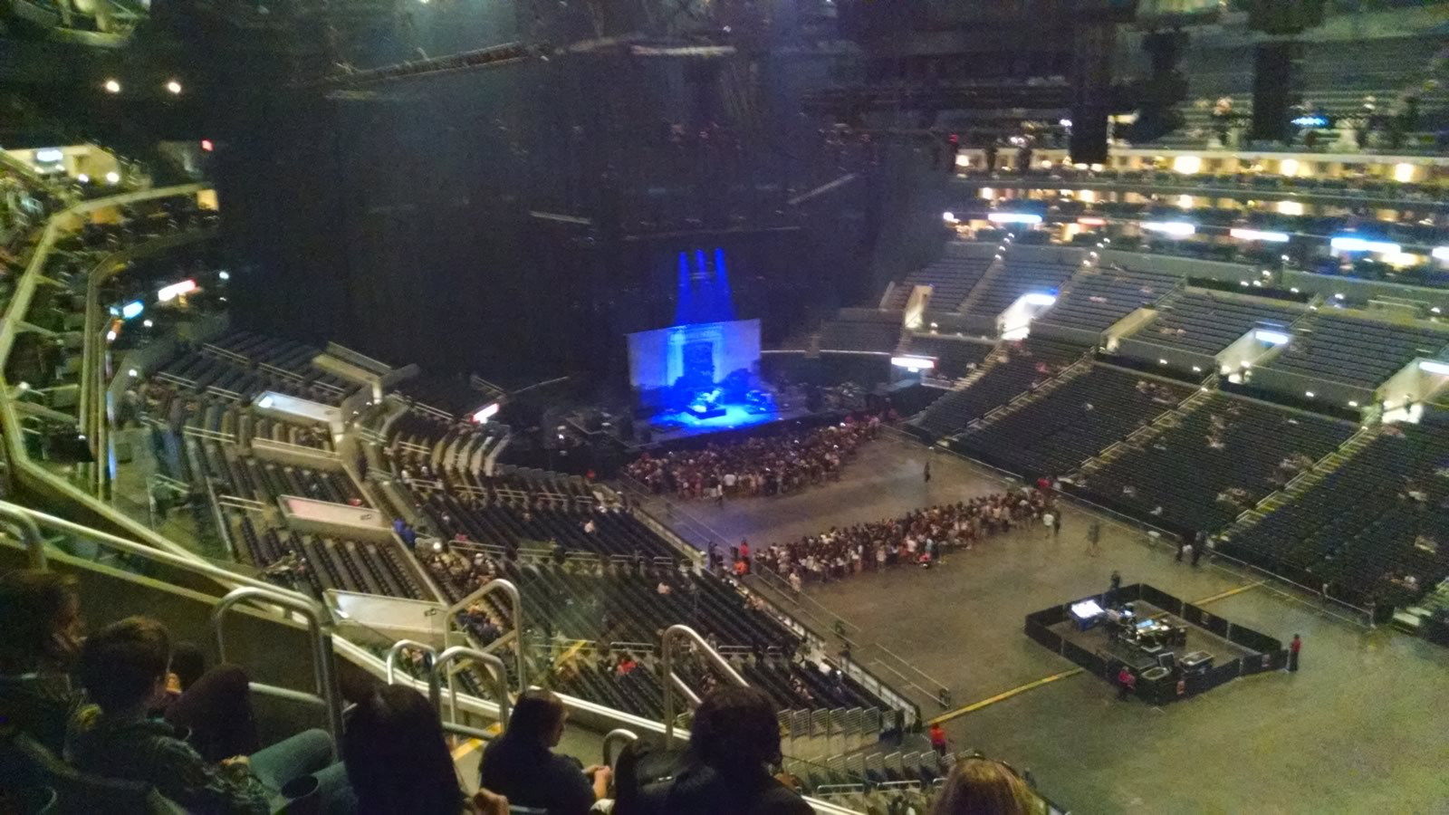 Concert Seat View for Staples Center Section 314, Row 7, Seat 6