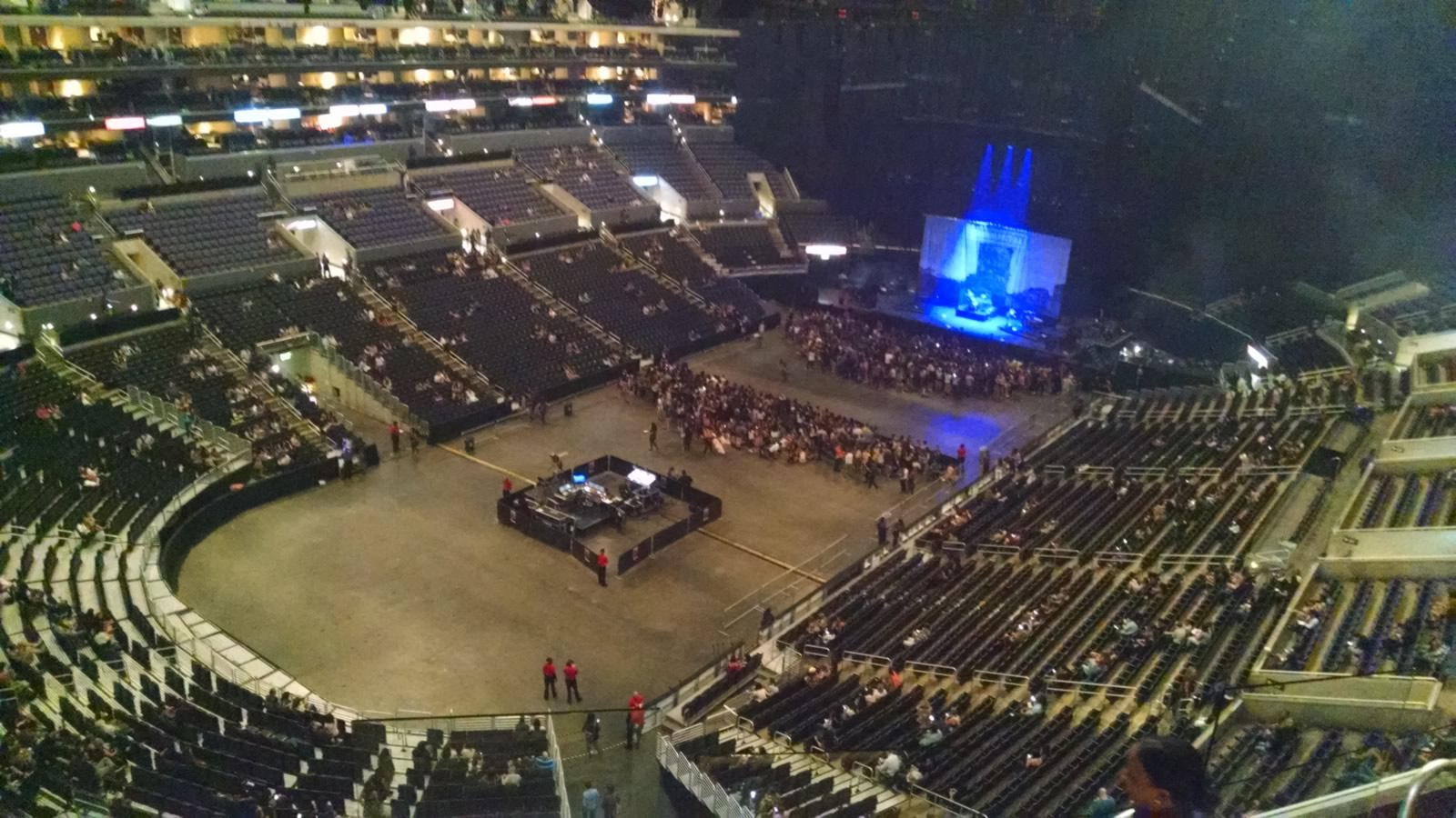 Concert Seat View for Staples Center Section 306