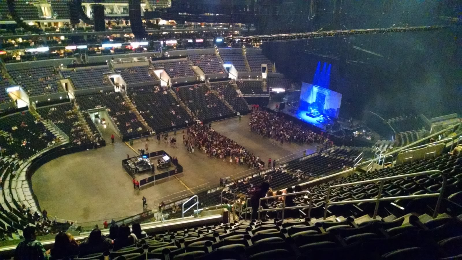 Concert Seat View for Staples Center Section 304, Row 15, Seat 9