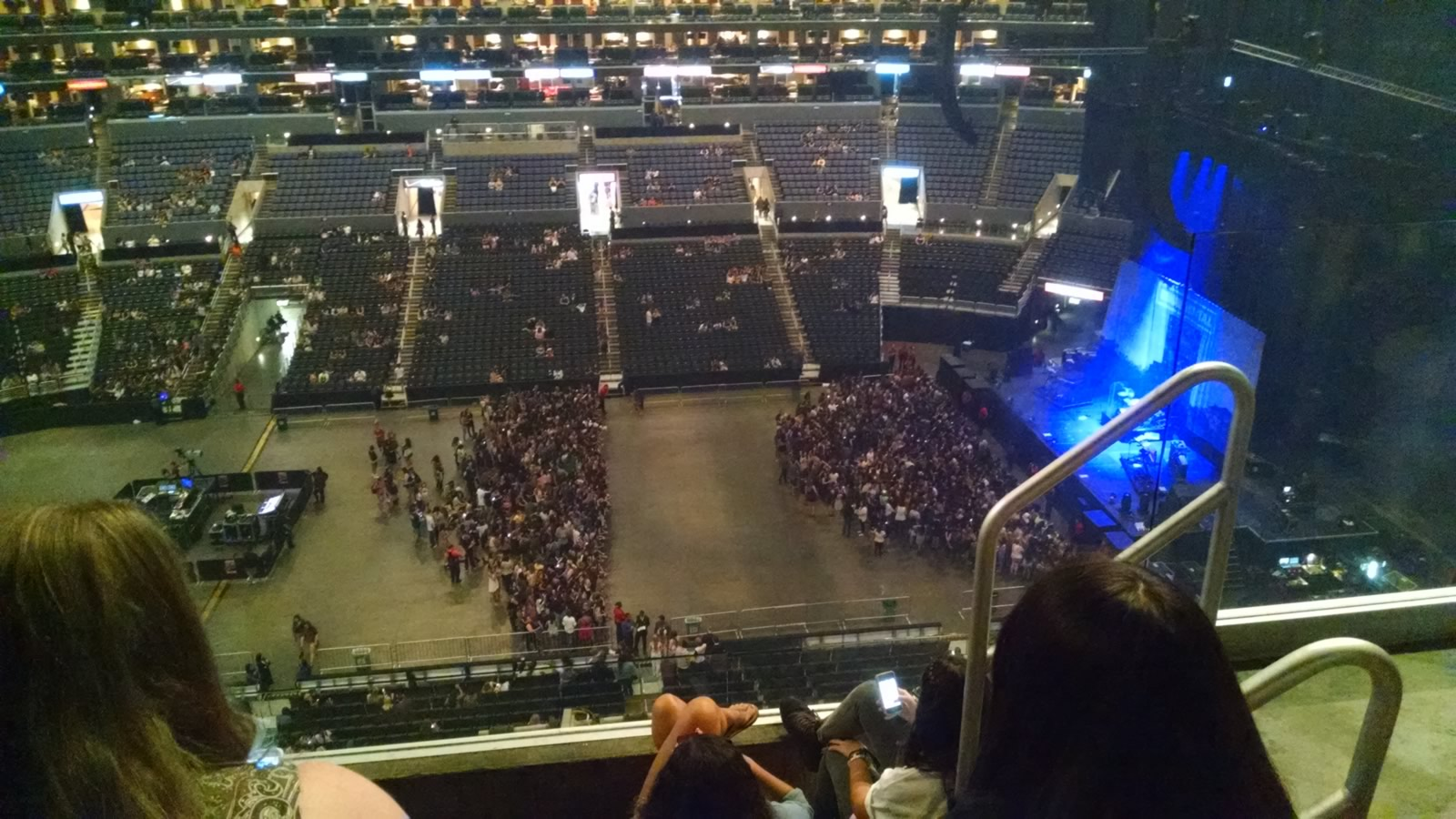 Concert Seat View for Staples Center Section 301, Row 4, Seat 3