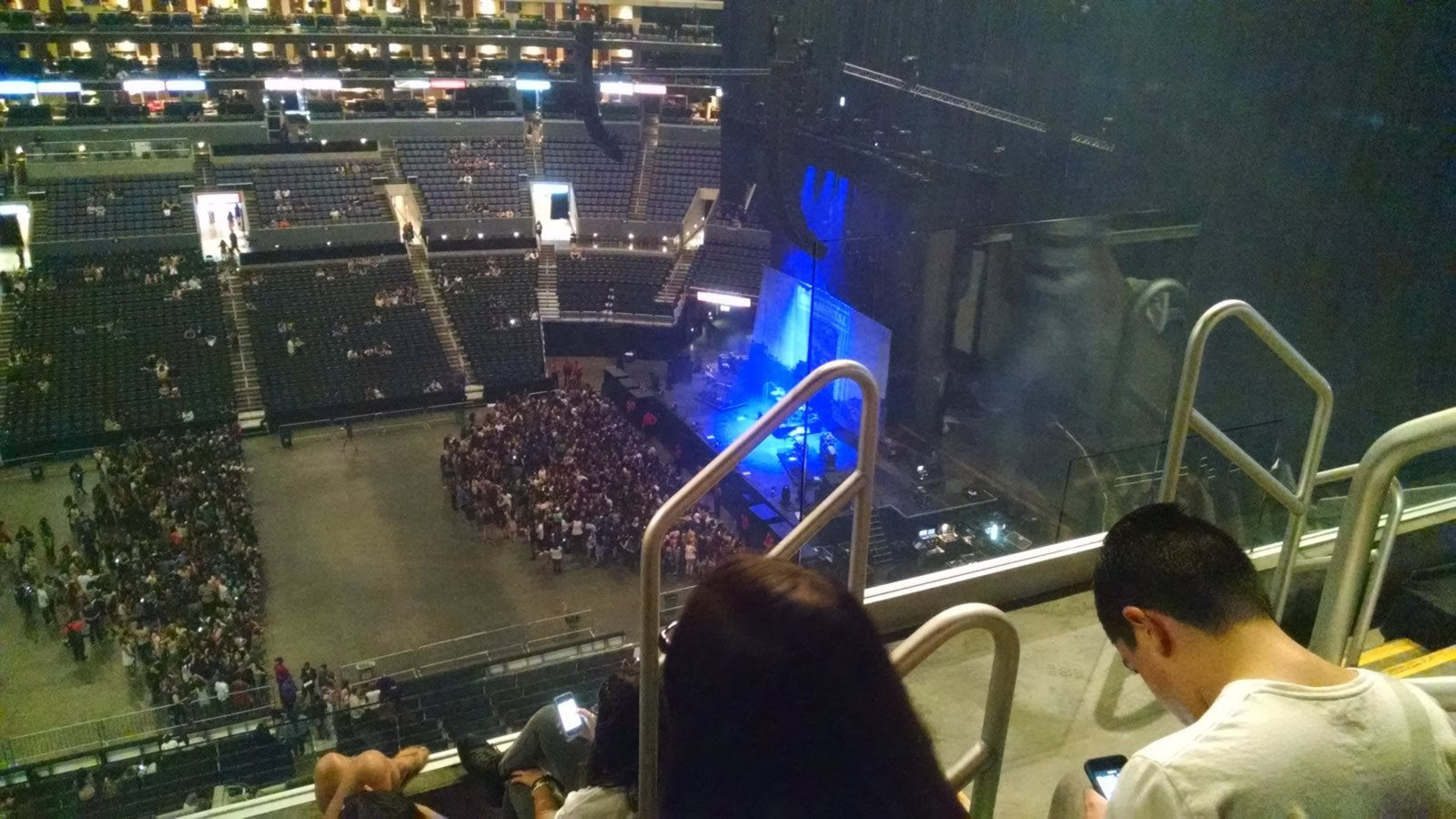 Concert Seat View for Staples Center Section 301