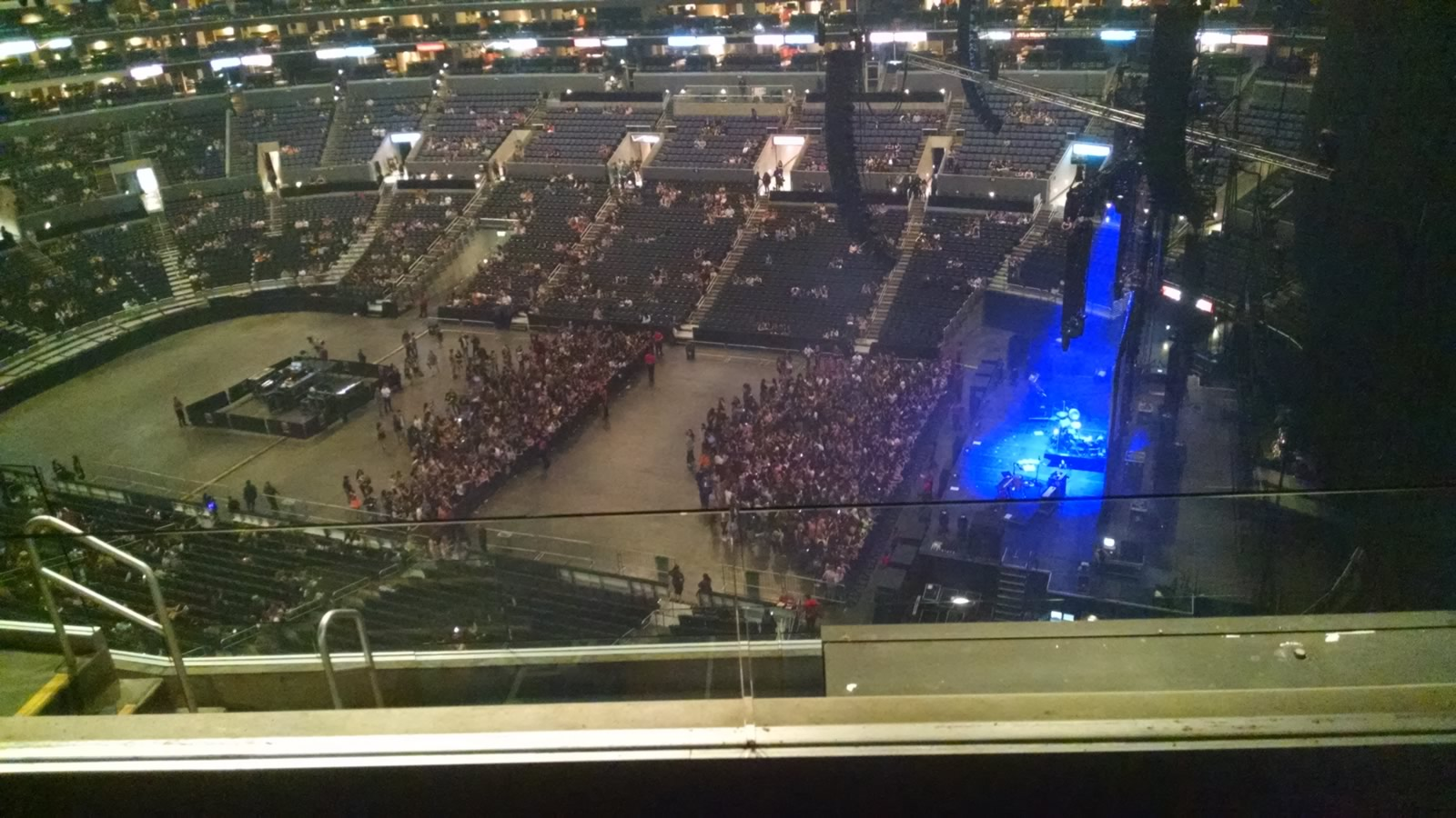 Concert Seat View for Staples Center Section 332, Row 7, Seat 16