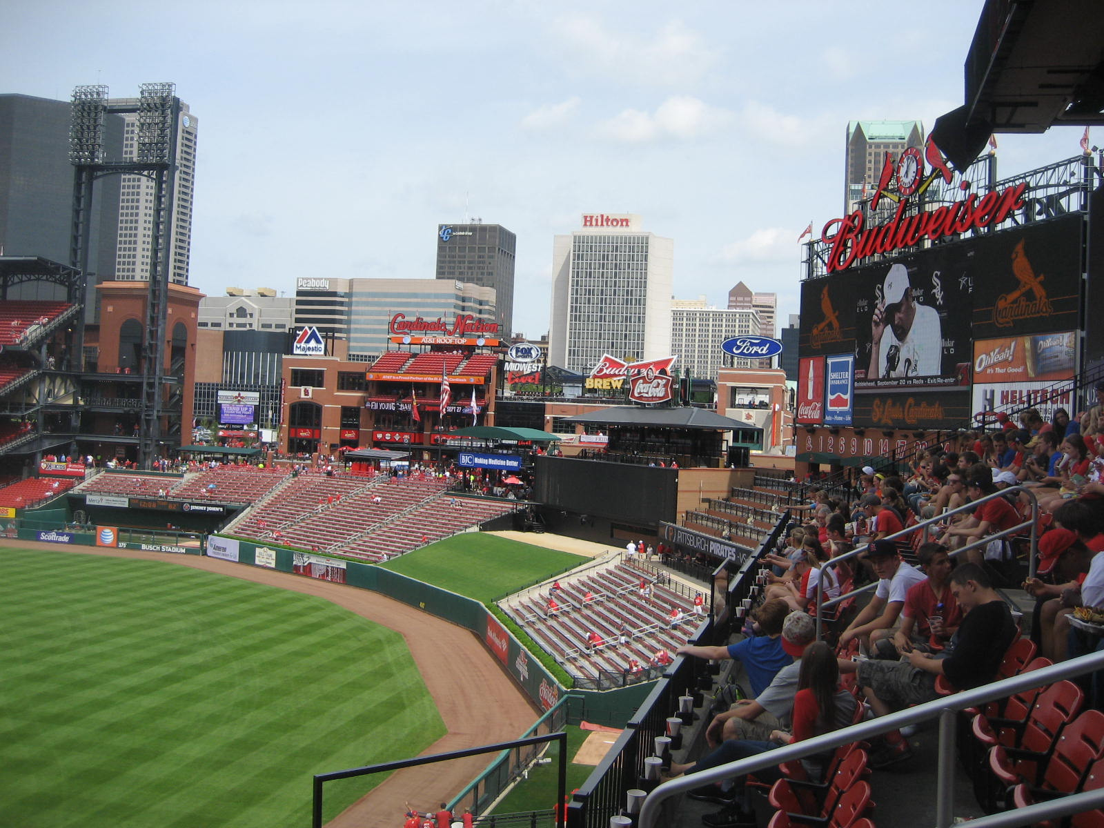 Seat View for Busch Stadium Section 230, Row 4, Seat 4