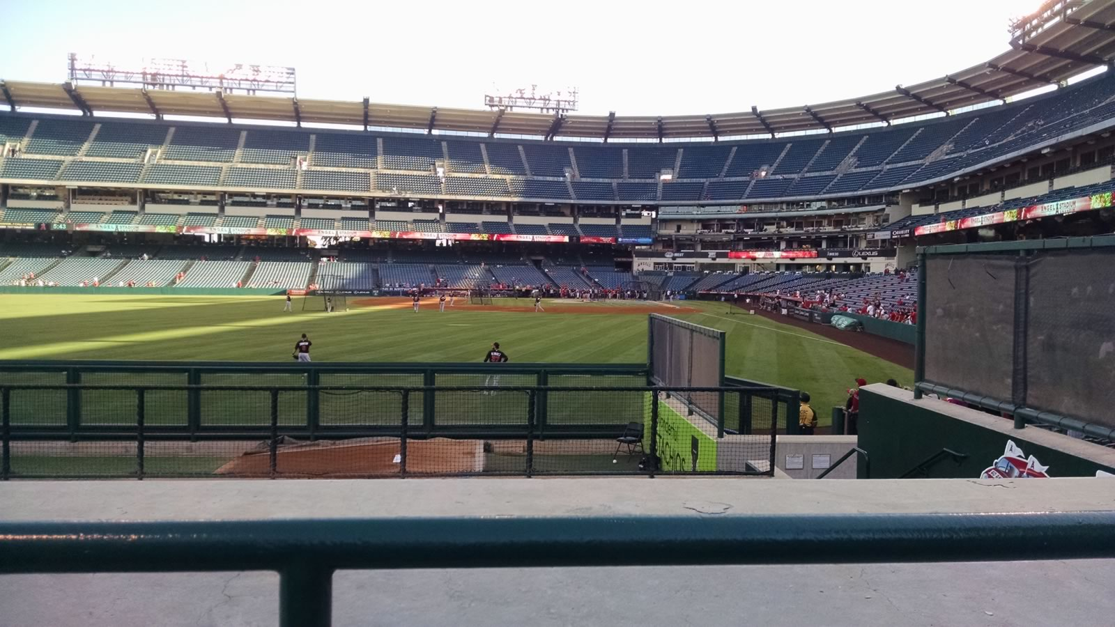 Seat View for Angel Stadium Section 259, Row G, Seat 21
