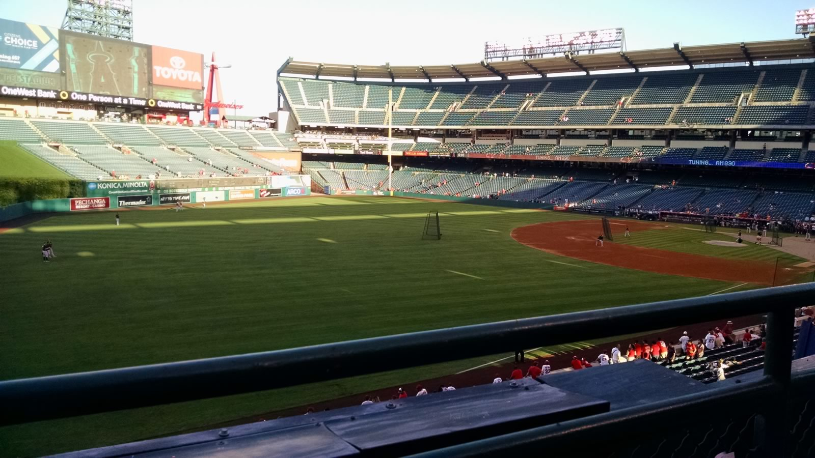 Seat View for Angel Stadium Section 306, Row A, Seat 10