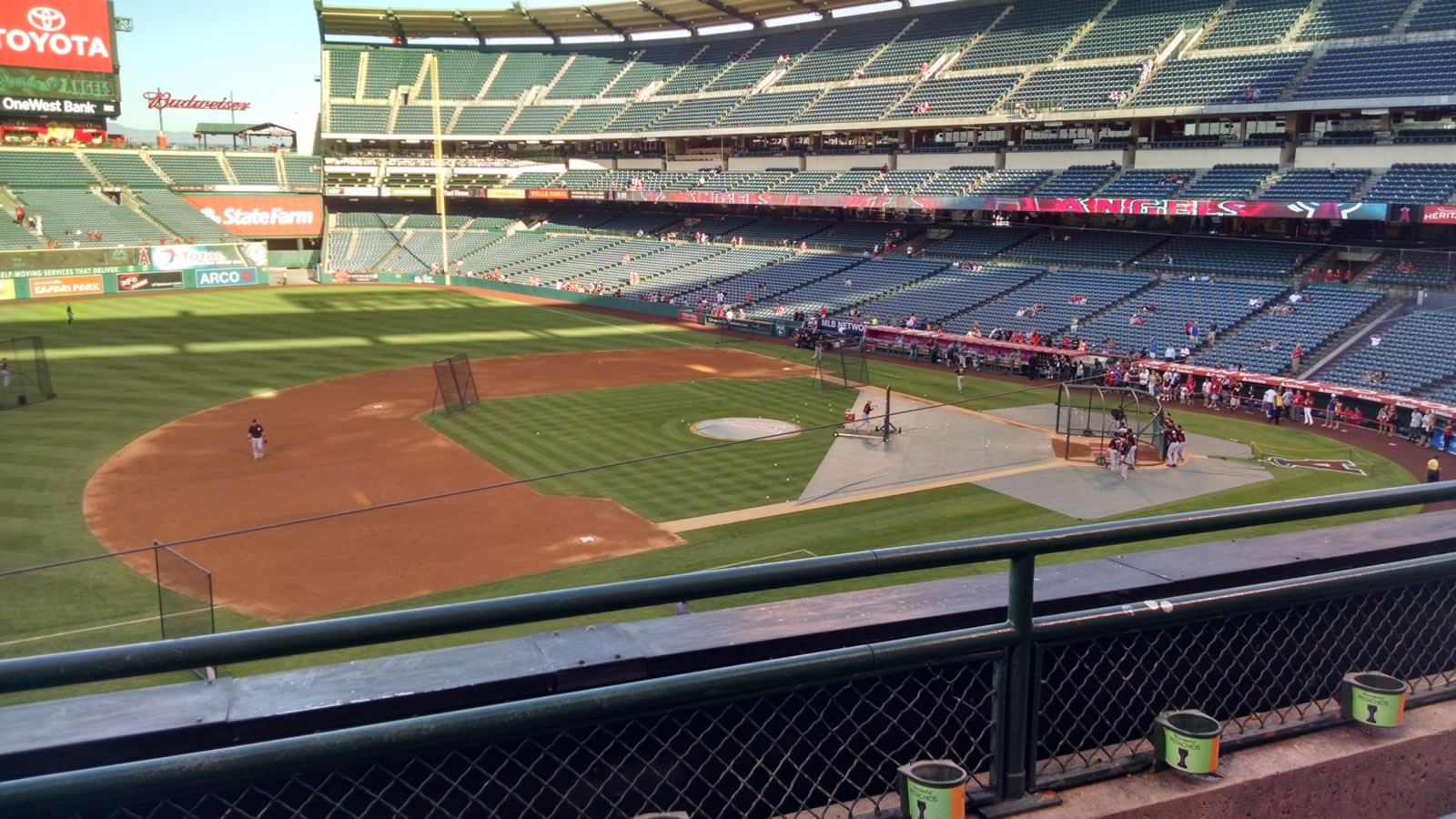 Seat View for Angel Stadium Section 315, Row B, Seat 7