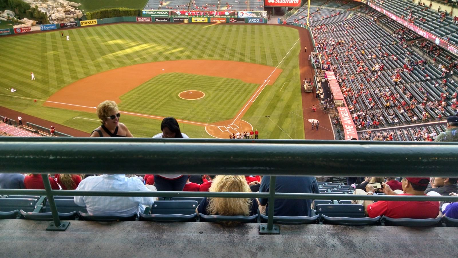 Seat View for Angel Stadium Section 518, Row A, Seat 5
