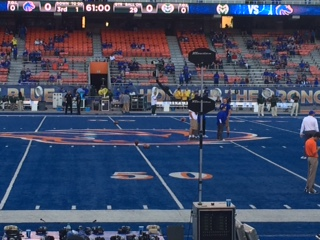 Seat View for Bronco Stadium Section 23, Row E, Seat 22