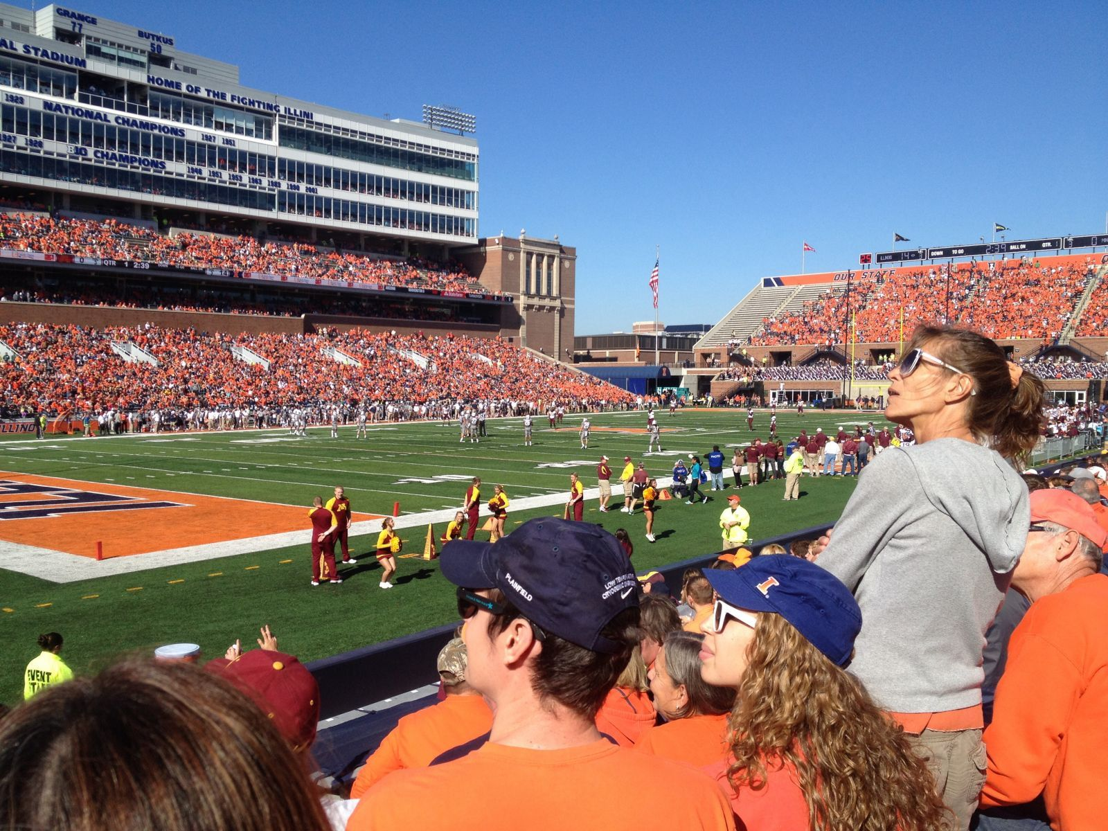 Section 110 seat view